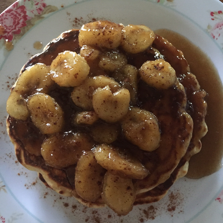 Maple Syrup and Banana Sauce Becky Brennan