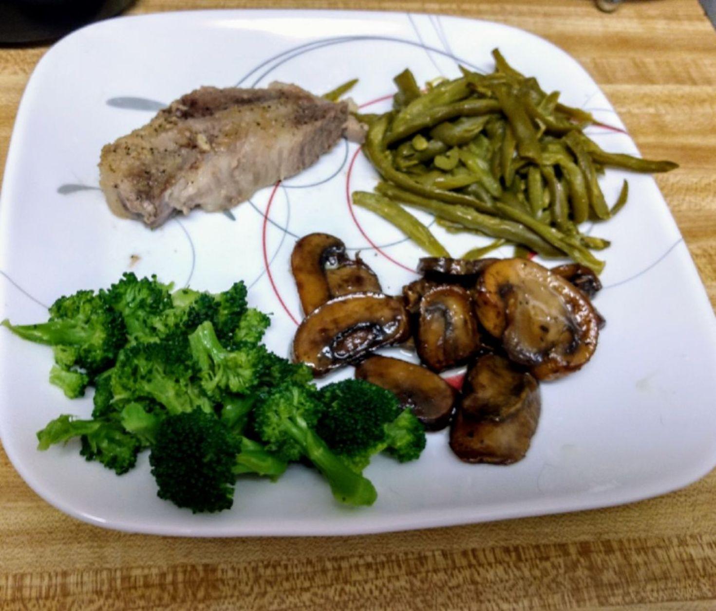 Garlic Seasoned Baked Pork Chops Kristina Marie Walker