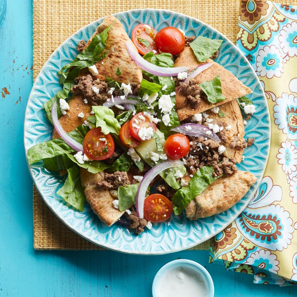Pita Chip Nachos EatingWell Test Kitchen