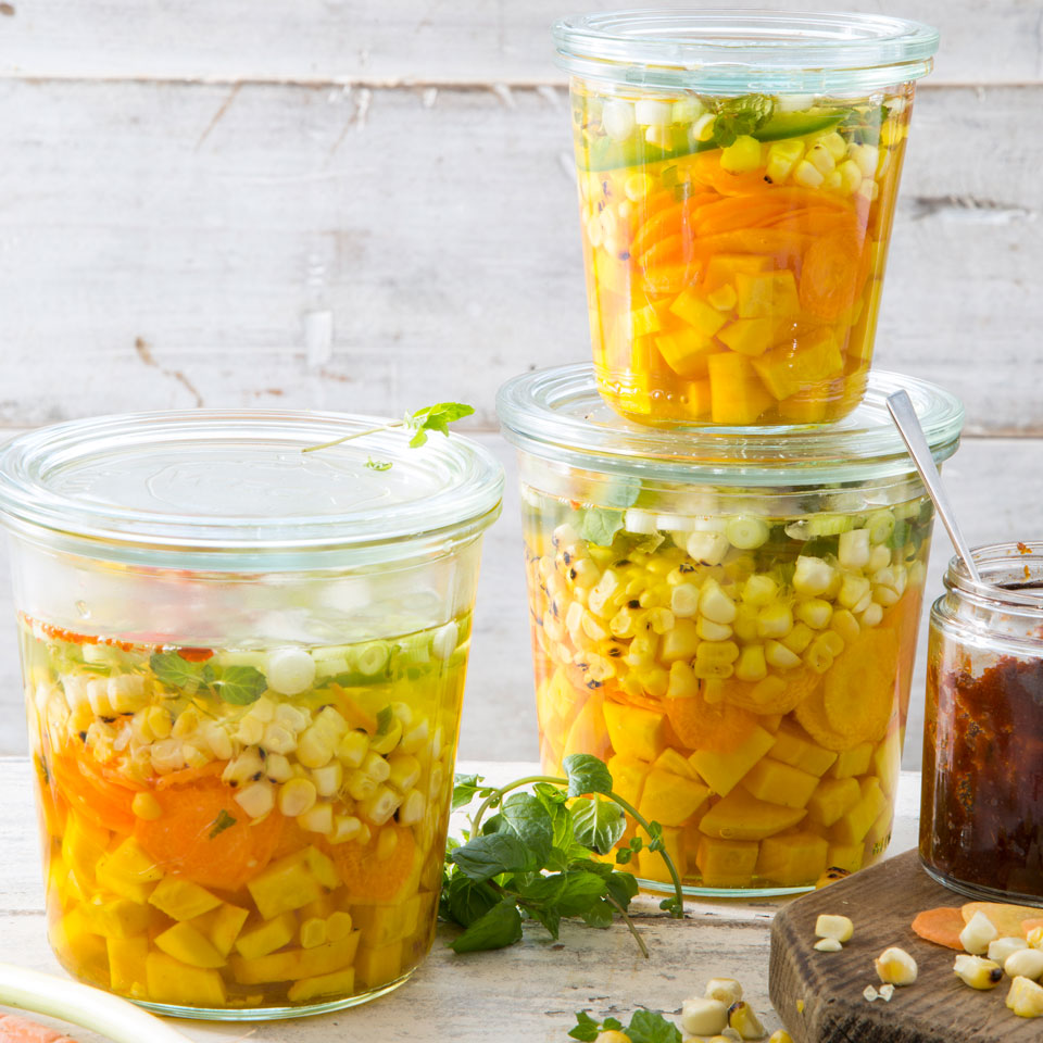 Grilled Corn & Carrot Giardiniera EatingWell Test Kitchen