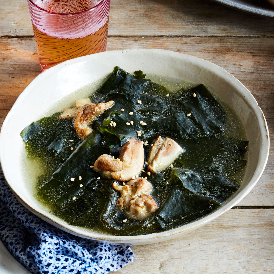 Seaweed Soup (Miyuk Guk) EatingWell Test Kitchen