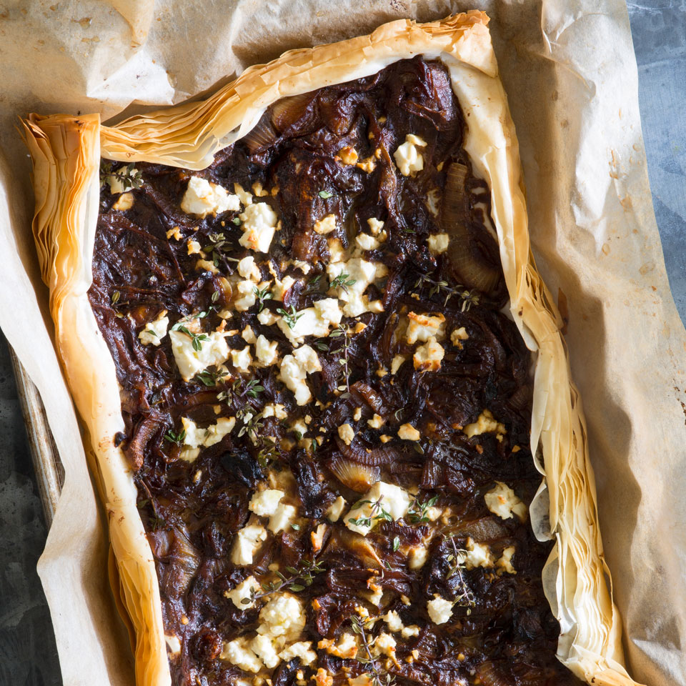 Vidalia Onion Tart EatingWell Test Kitchen