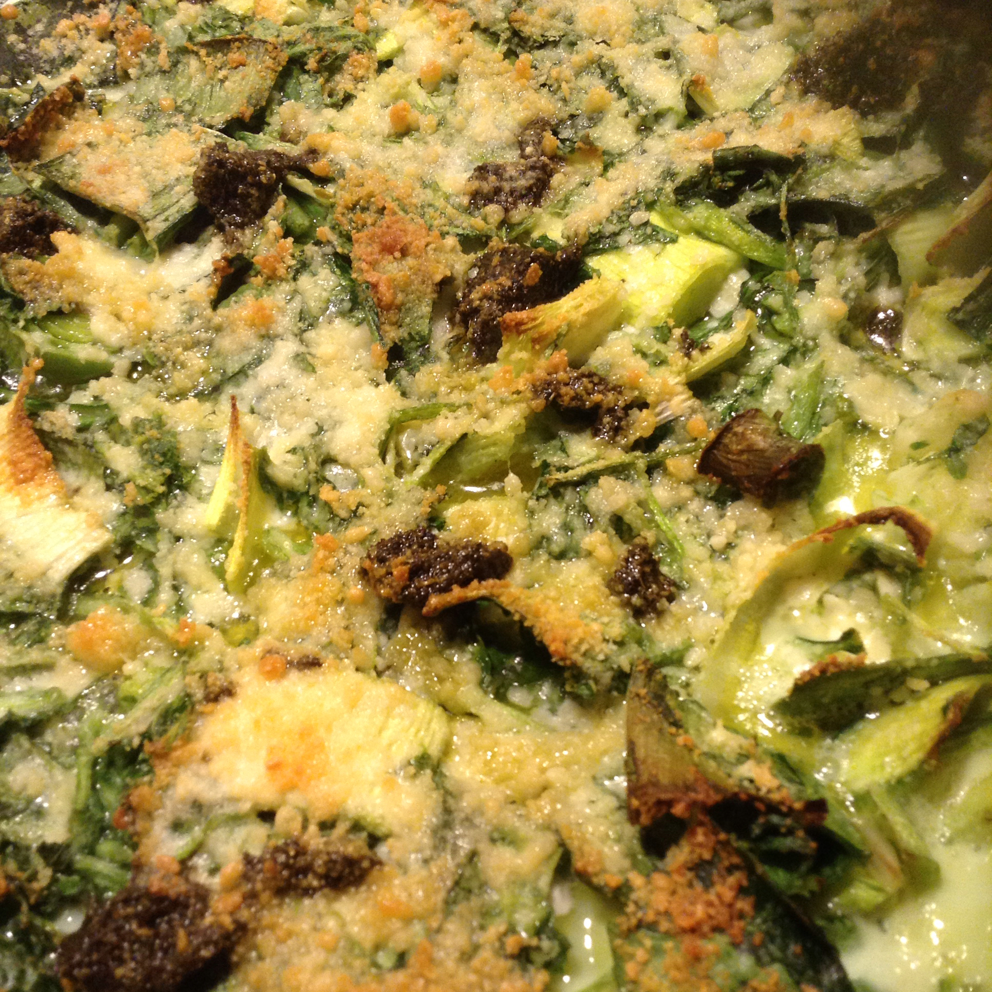 A Lot More Than Plain Spinach Pie (Greek Batsaria) oxypery
