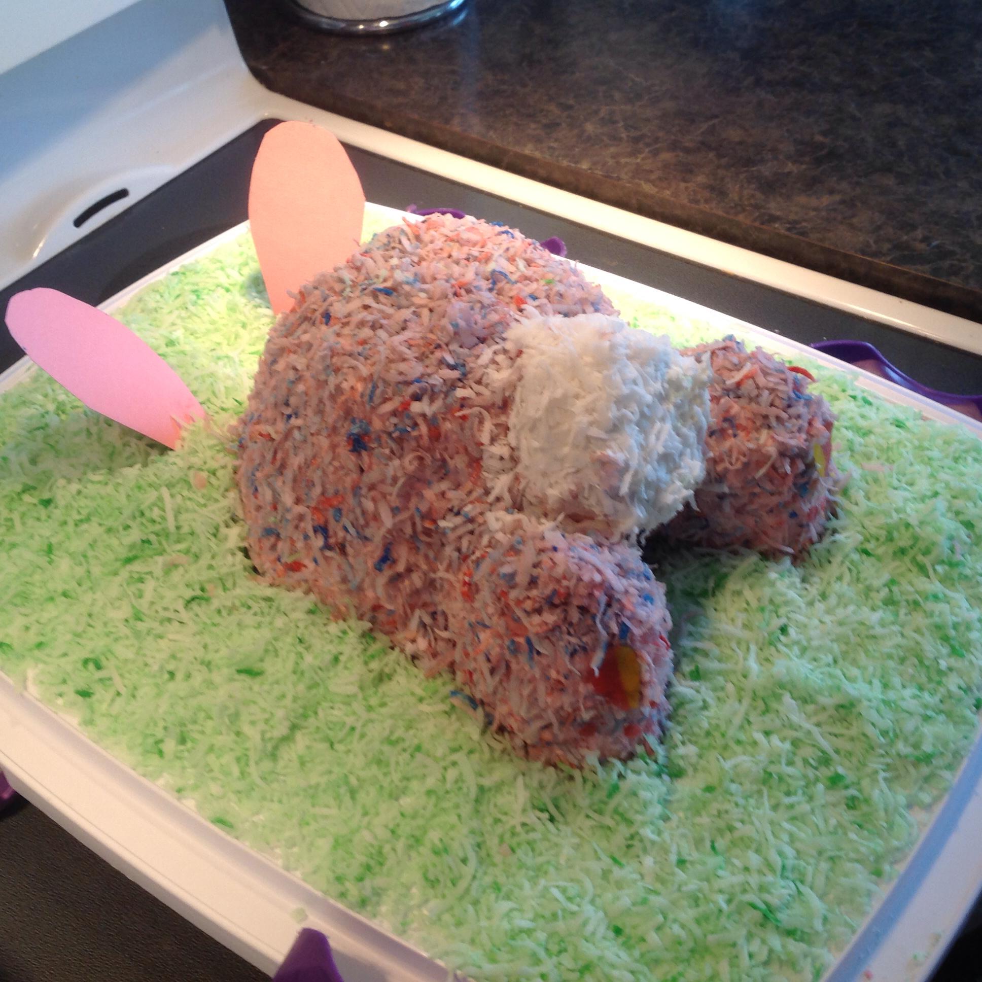 Easter Bunny 'Butt' Cake