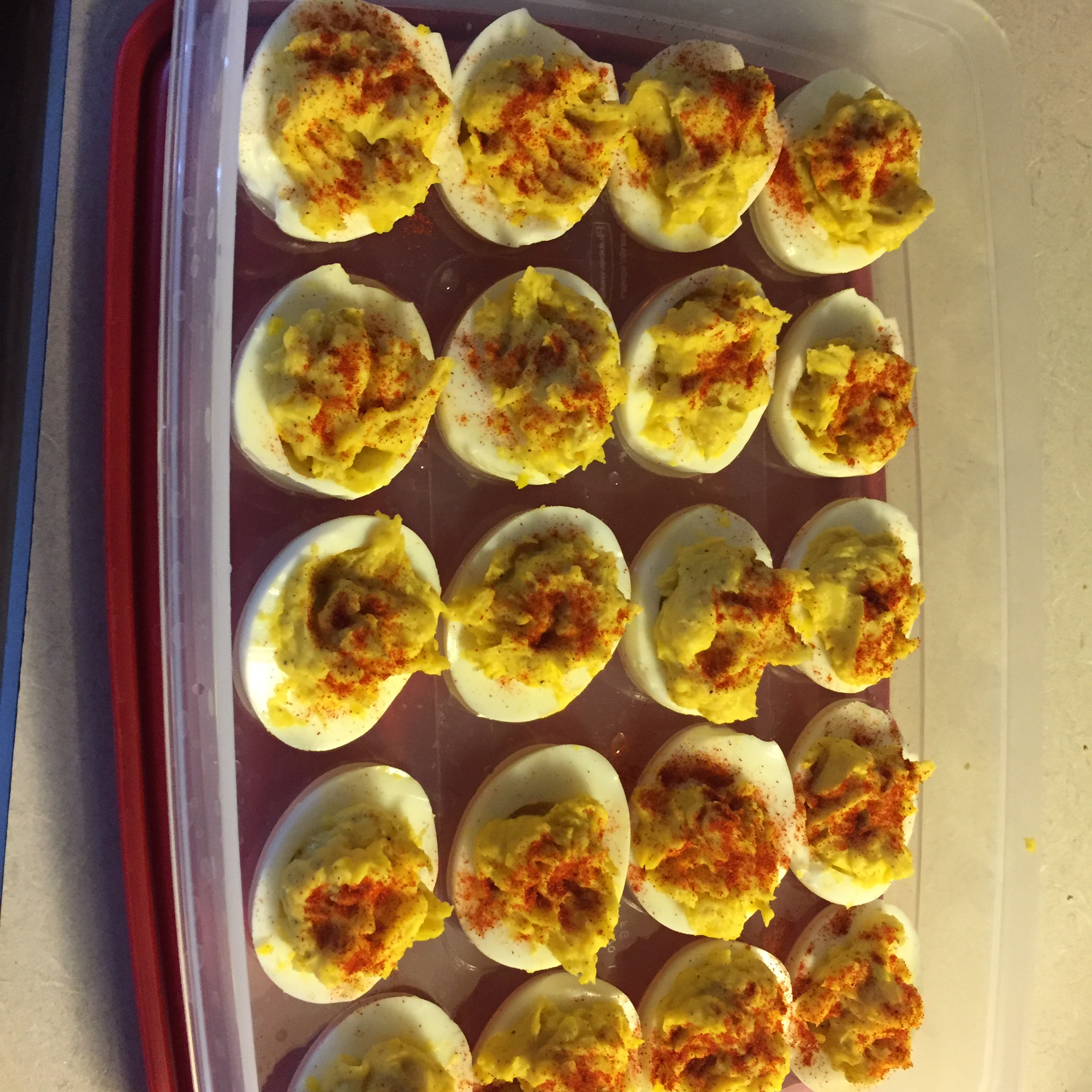 Sweet Deviled Eggs