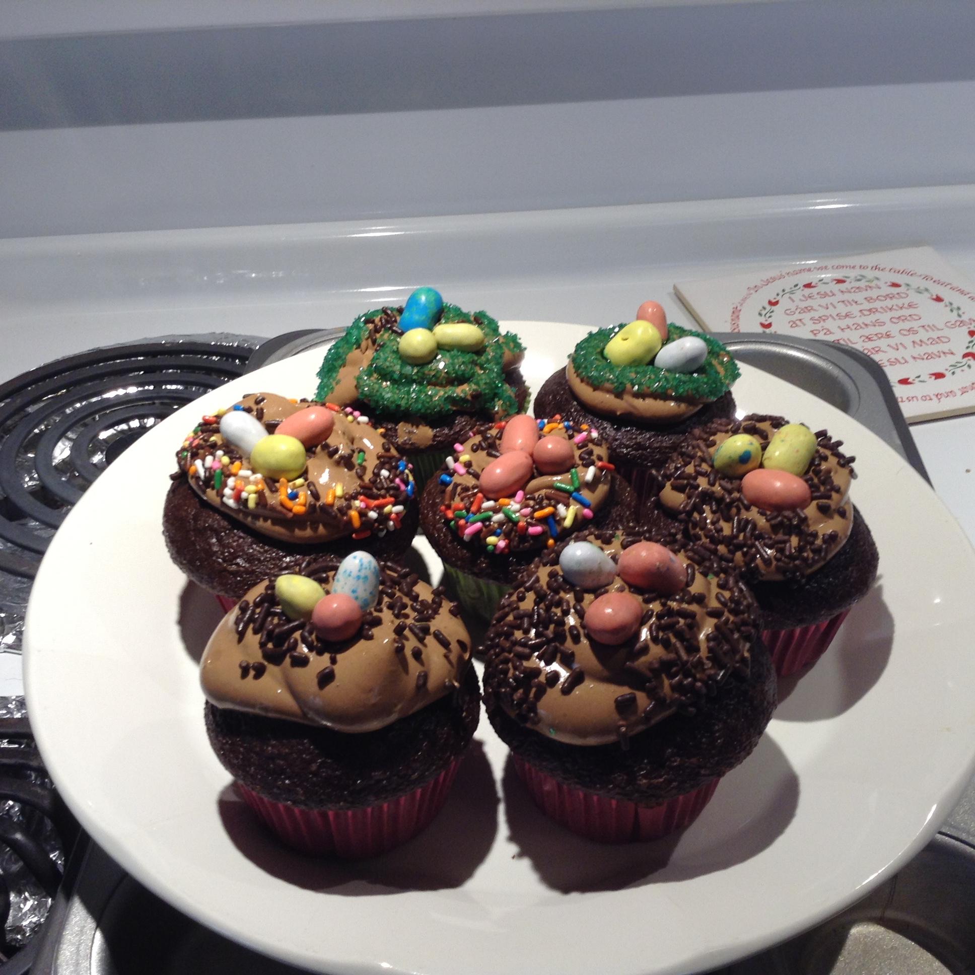 Carlee's Celebrate Spring Cupcakes brittnic99