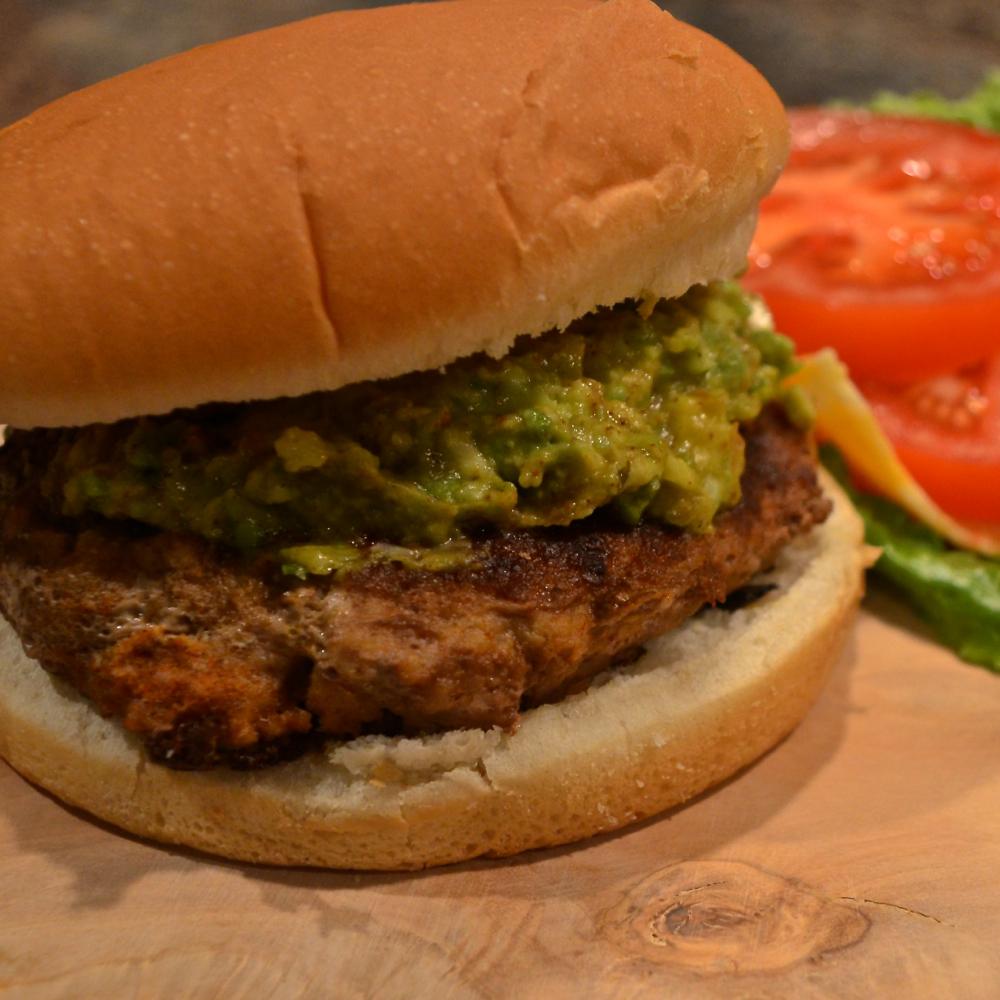 Guacamole Turkey Burger Bibi