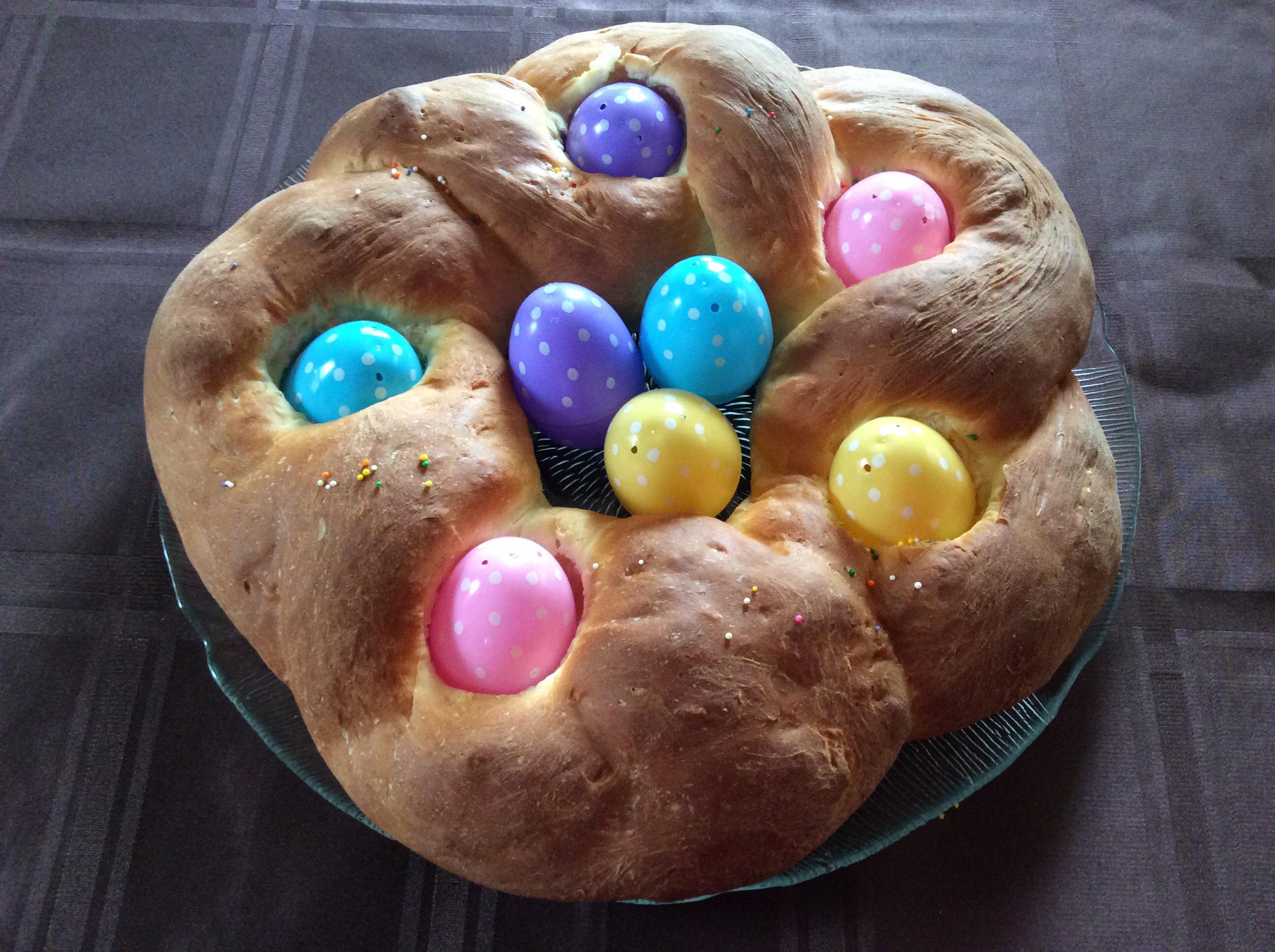 Braided Easter Egg Bread Diane Larwood