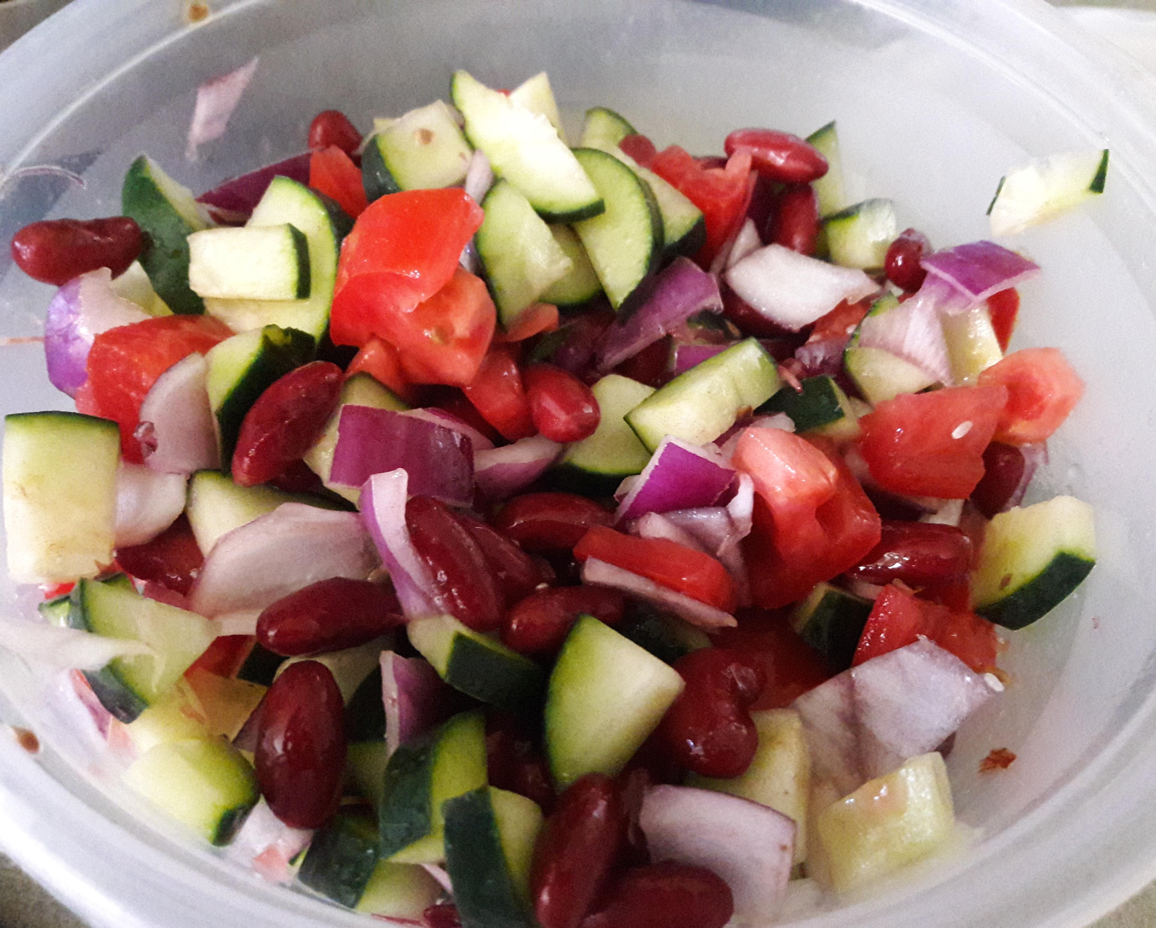 Cucumber and Tomato Salad Carlene Davis