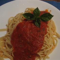 Fresh Tomato Basil Sauce njmom