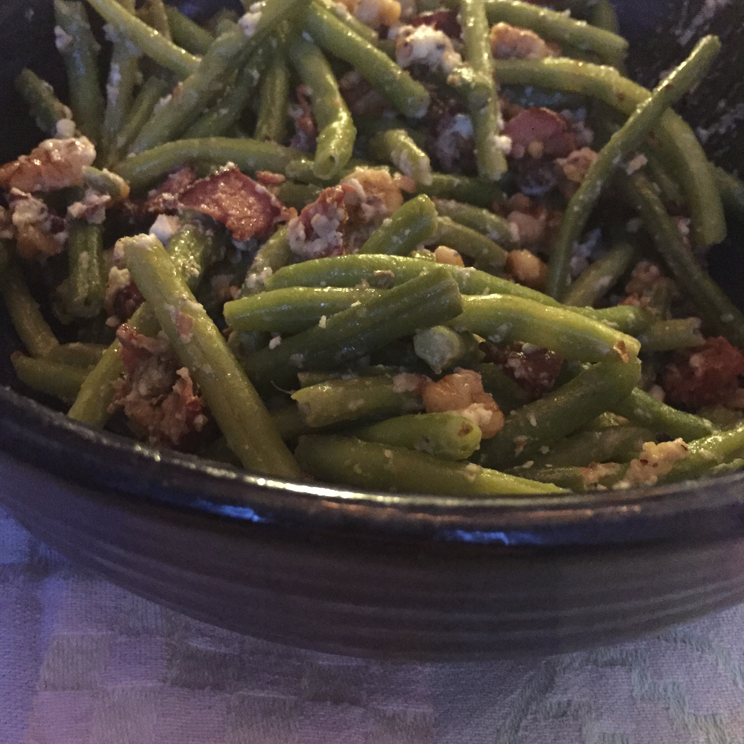 Green Beans with Blue Cheese Joy Alvord