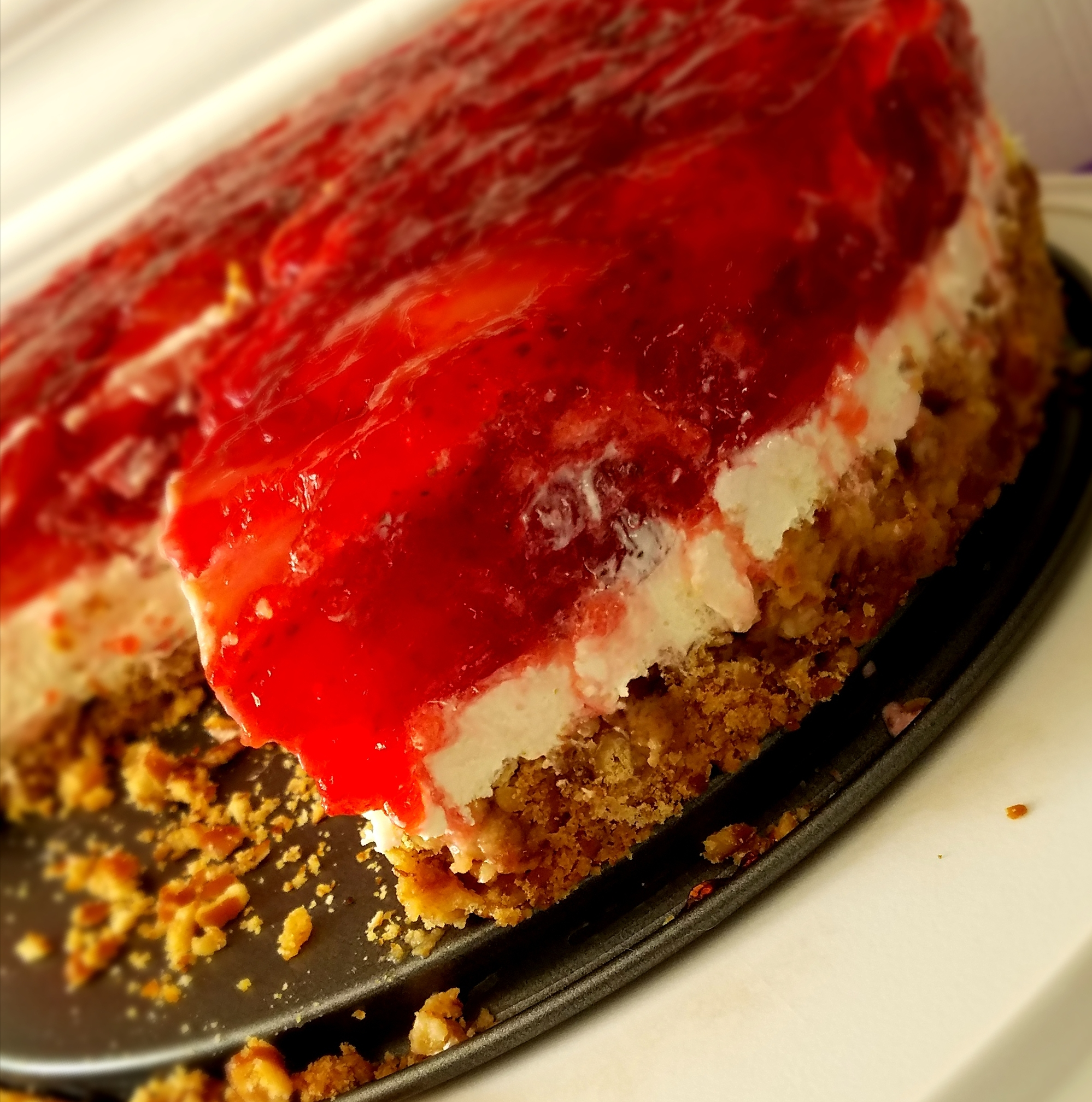 Judy's Strawberry Pretzel Salad Pegasus