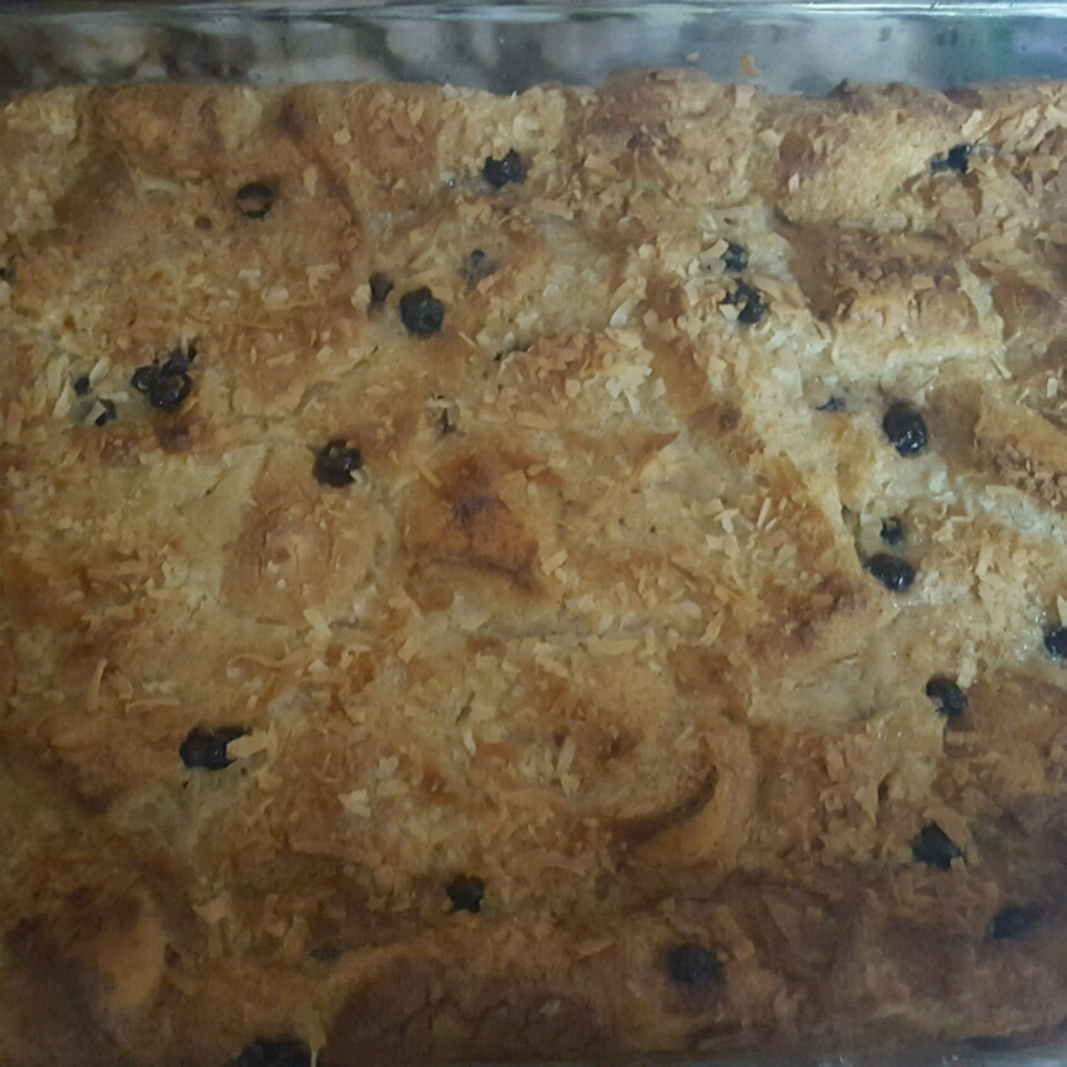 Coconut Bread Pudding Renee Moselee