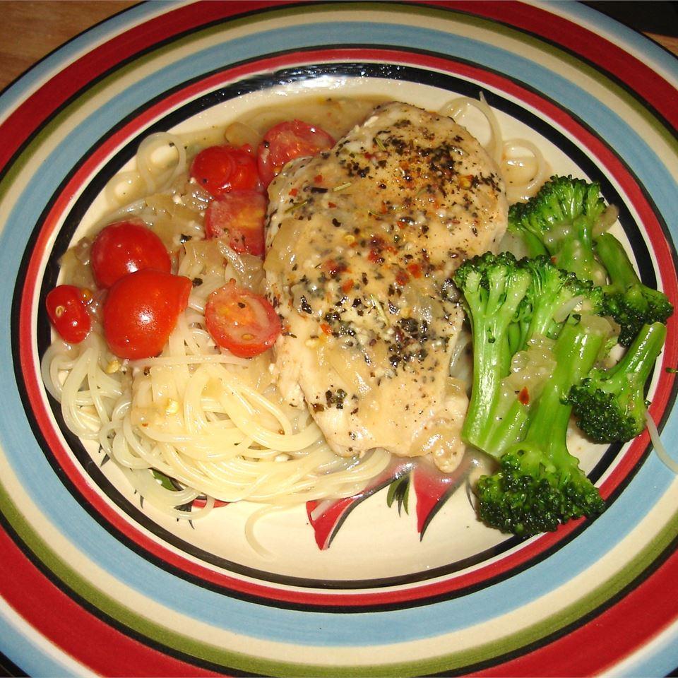 Herb and Chicken Pasta LadaFun