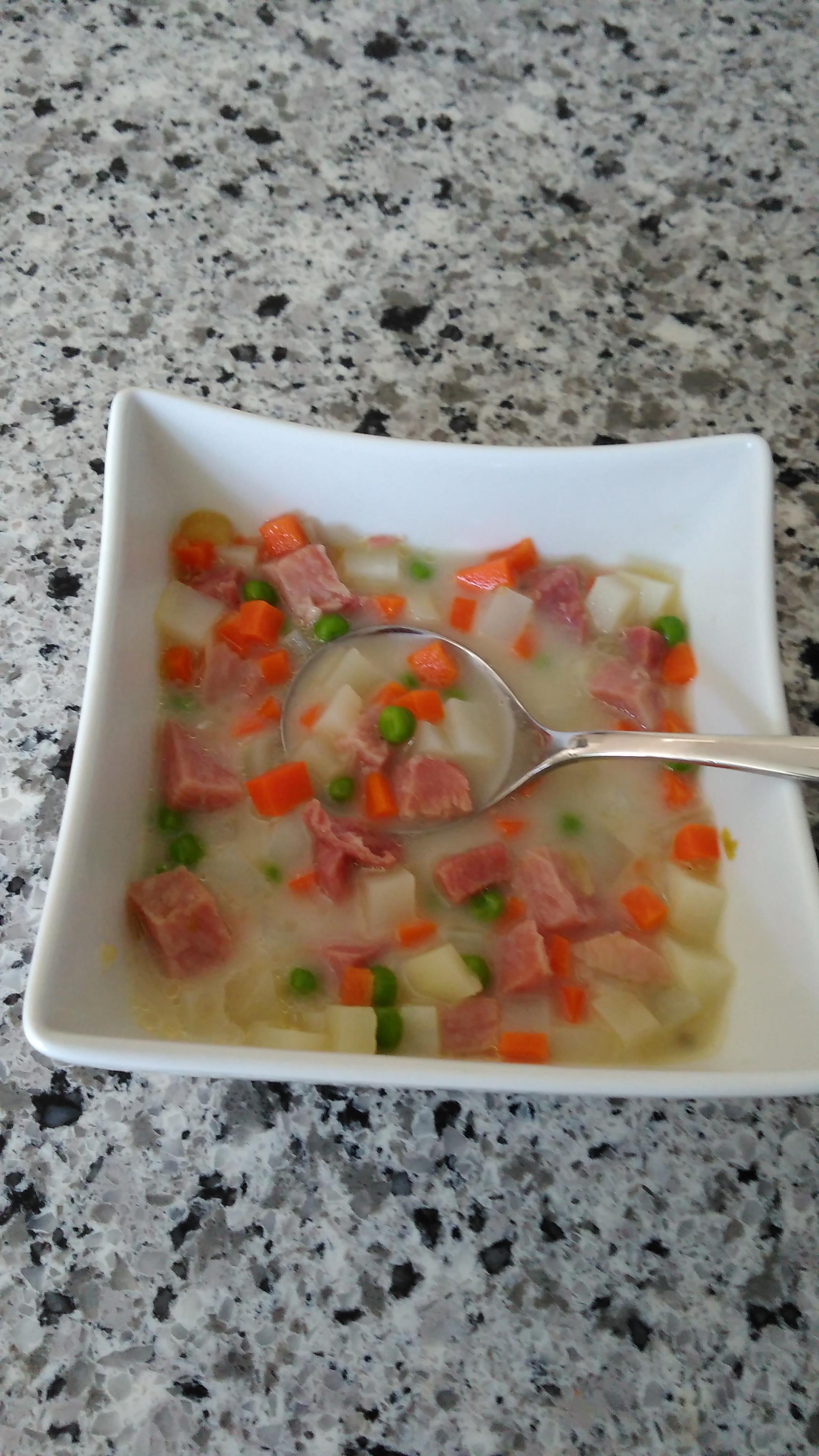Potato and Ham Stew