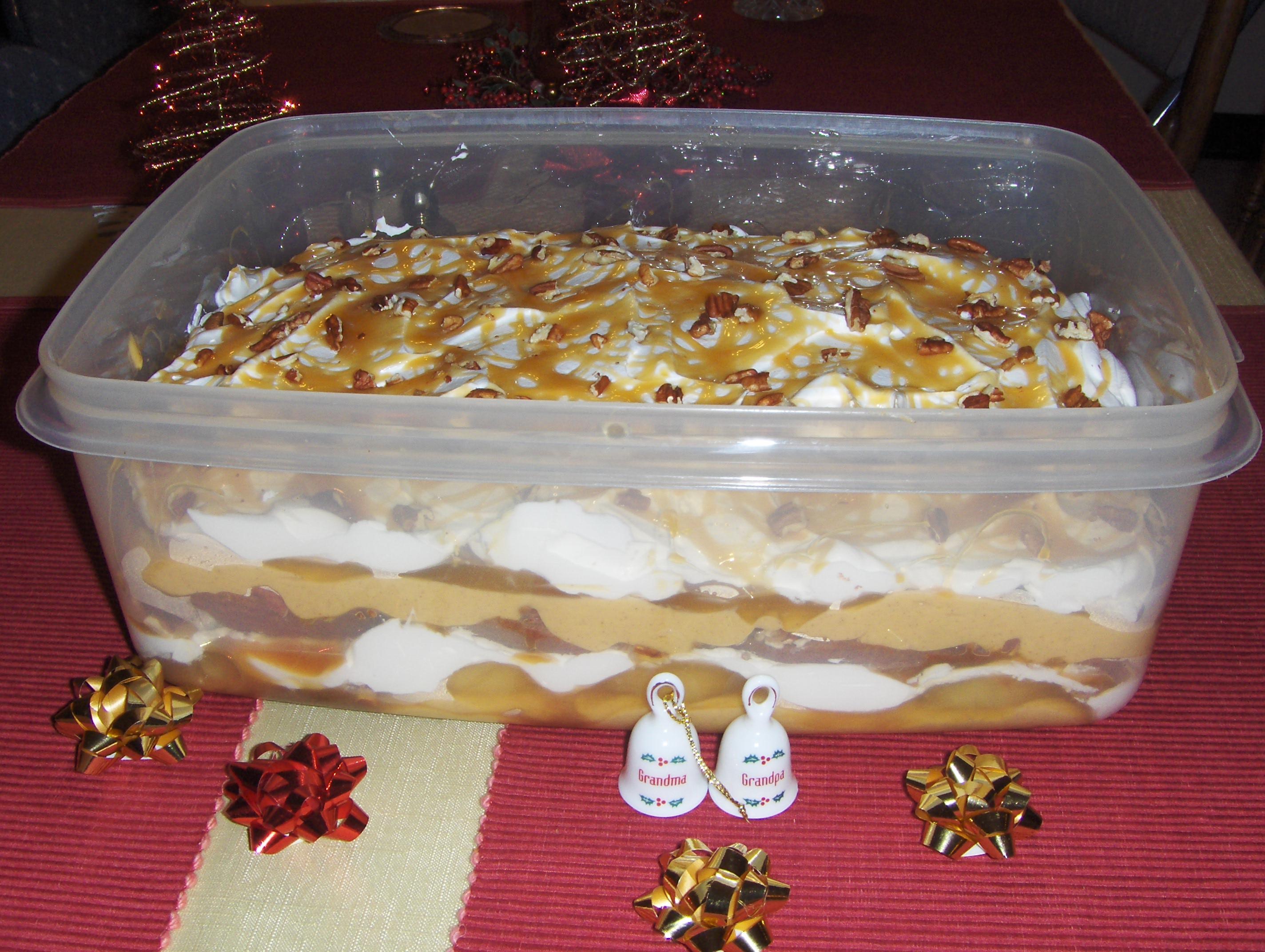 Caramel Apple Box Trifle Becky Sue Miller