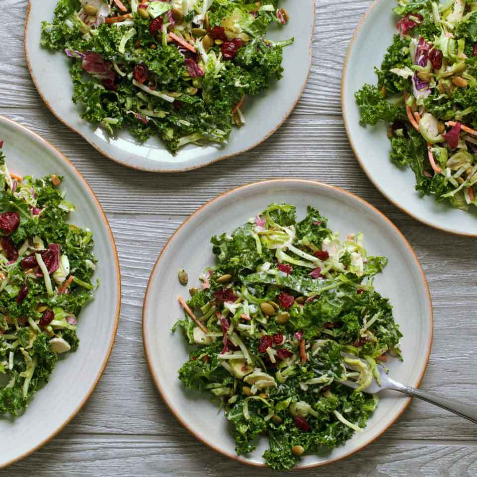 Kale Salad with Creamy Poppy Seed Dressing Trusted Brands