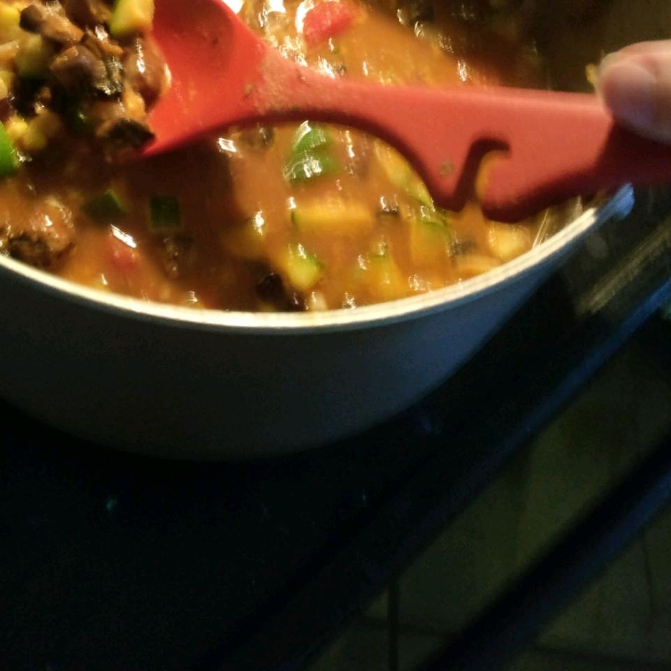 Vegetarian Tortilla Soup with Avocado Dannielle Wentzel