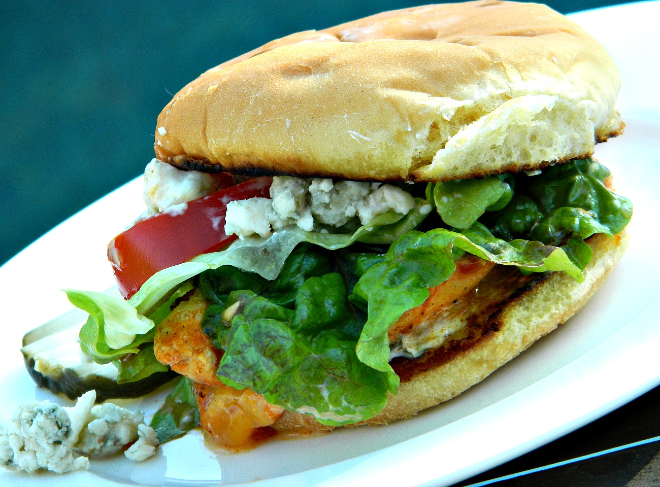 Spicy Buffalo Chicken Sandwich Marianne