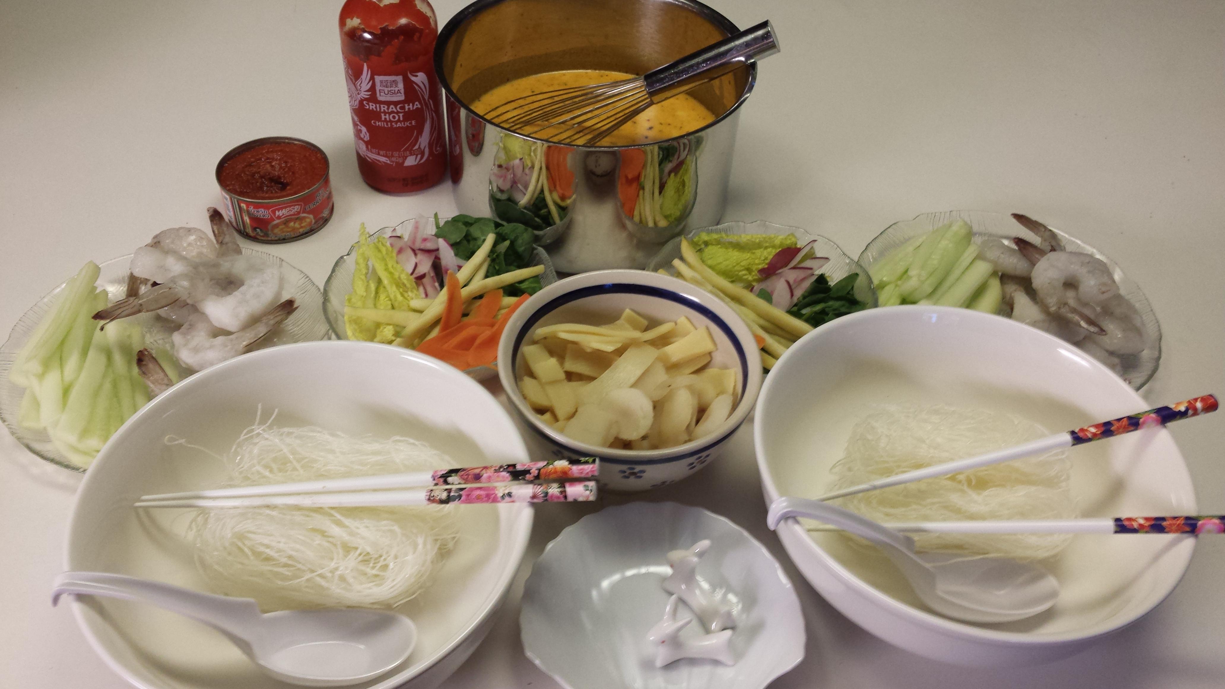 Vietnamese-Style Shrimp Soup James