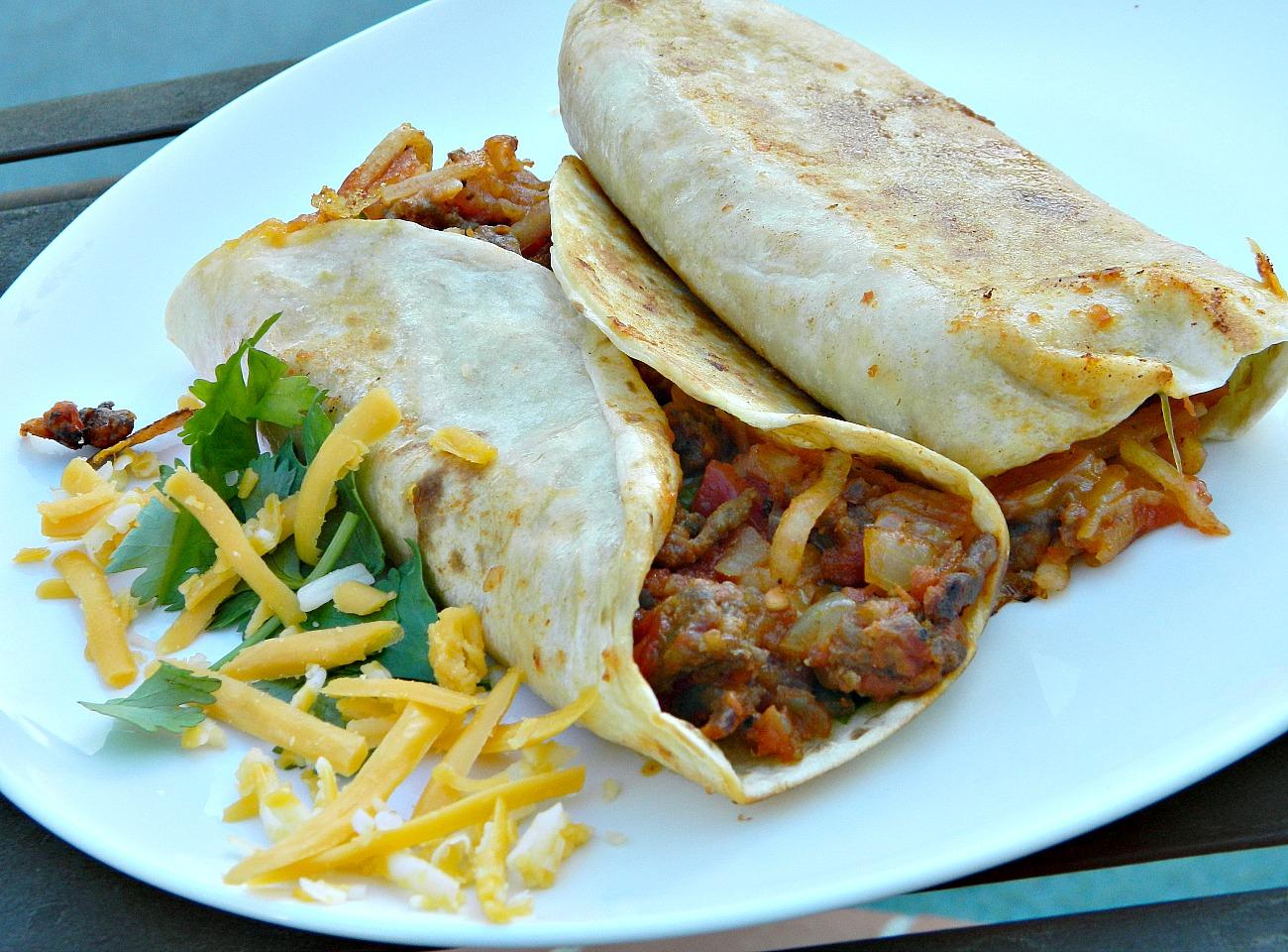 Carne Asada Breakfast Burrito Marianne