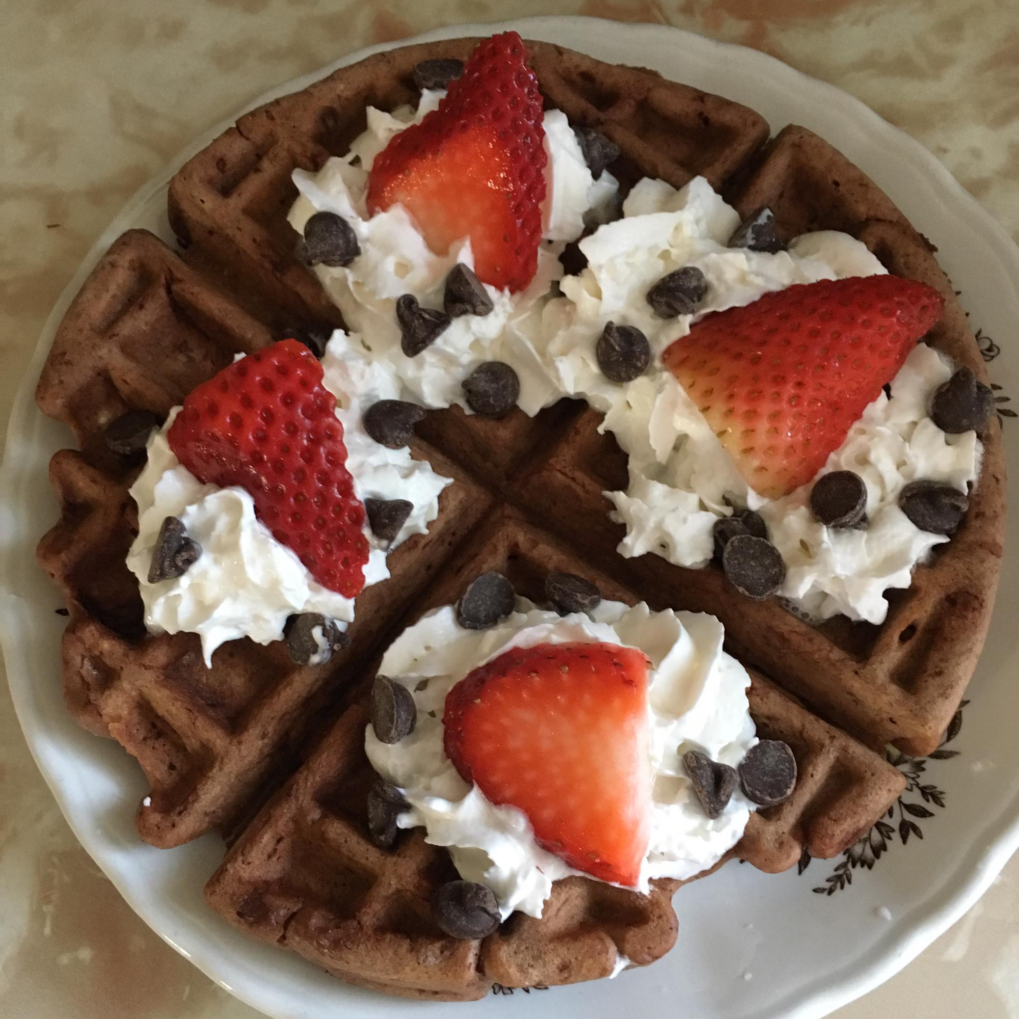 Chocolate Waffles