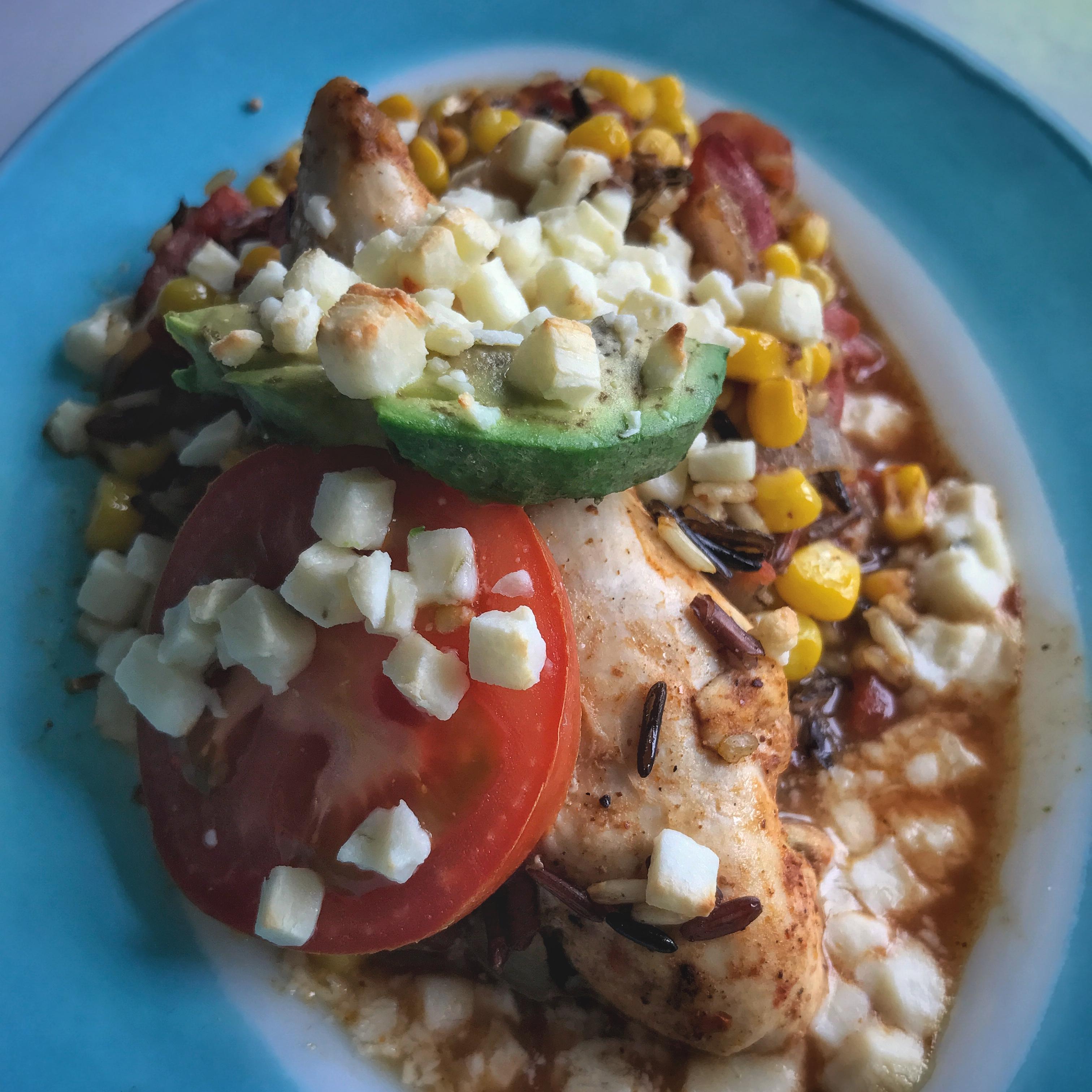 Hunt's® Monterrey Chicken and Rice Bake Erica Brown