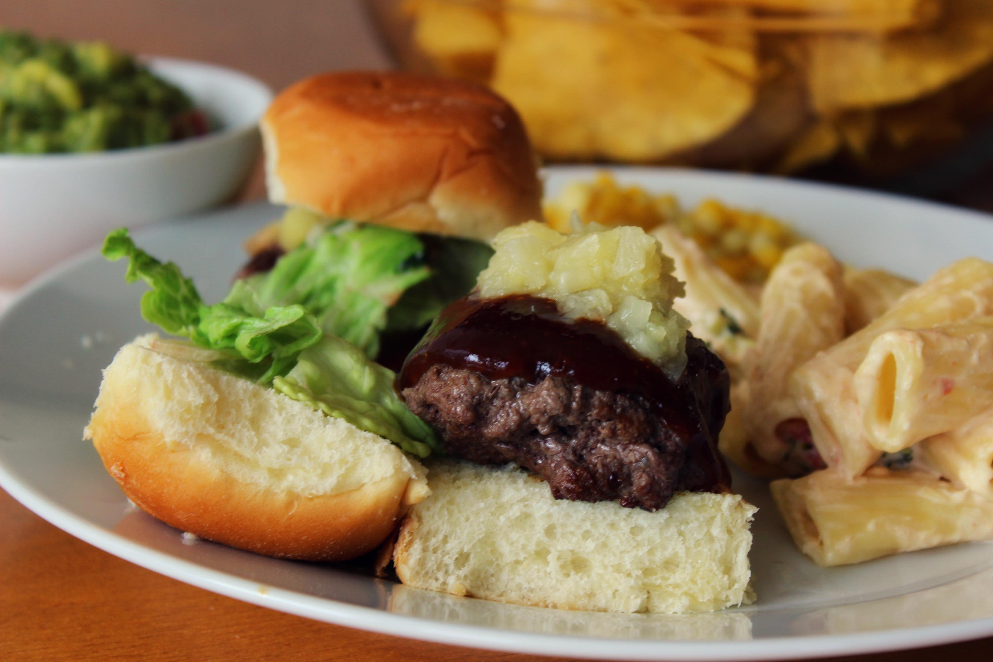 Smoky Bison Burger