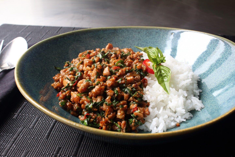 Spicy Thai Basil Chicken Pad Krapow Gai Recipe Allrecipes