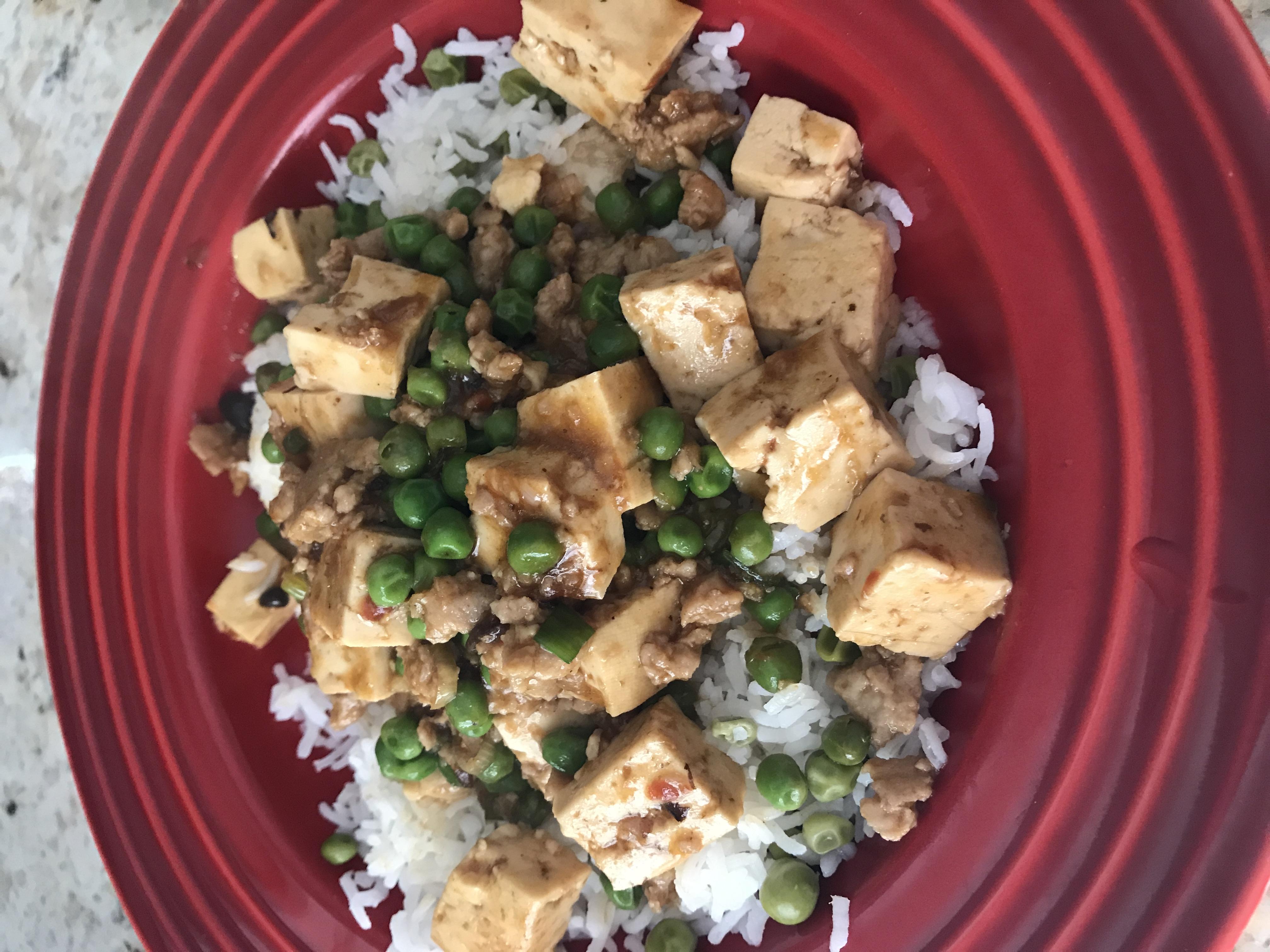 Ma Po Tofu undertheliveoaktrees