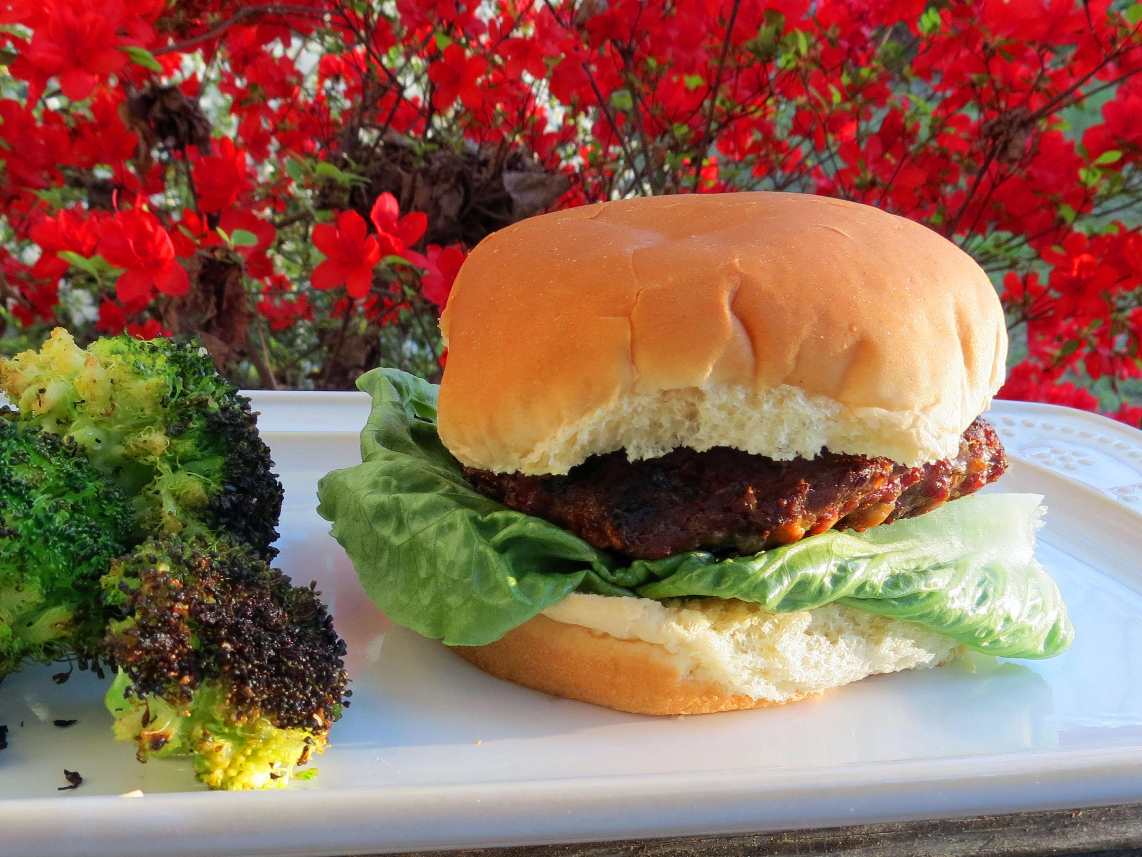 Zesty Black & Blue Burger JARRIE