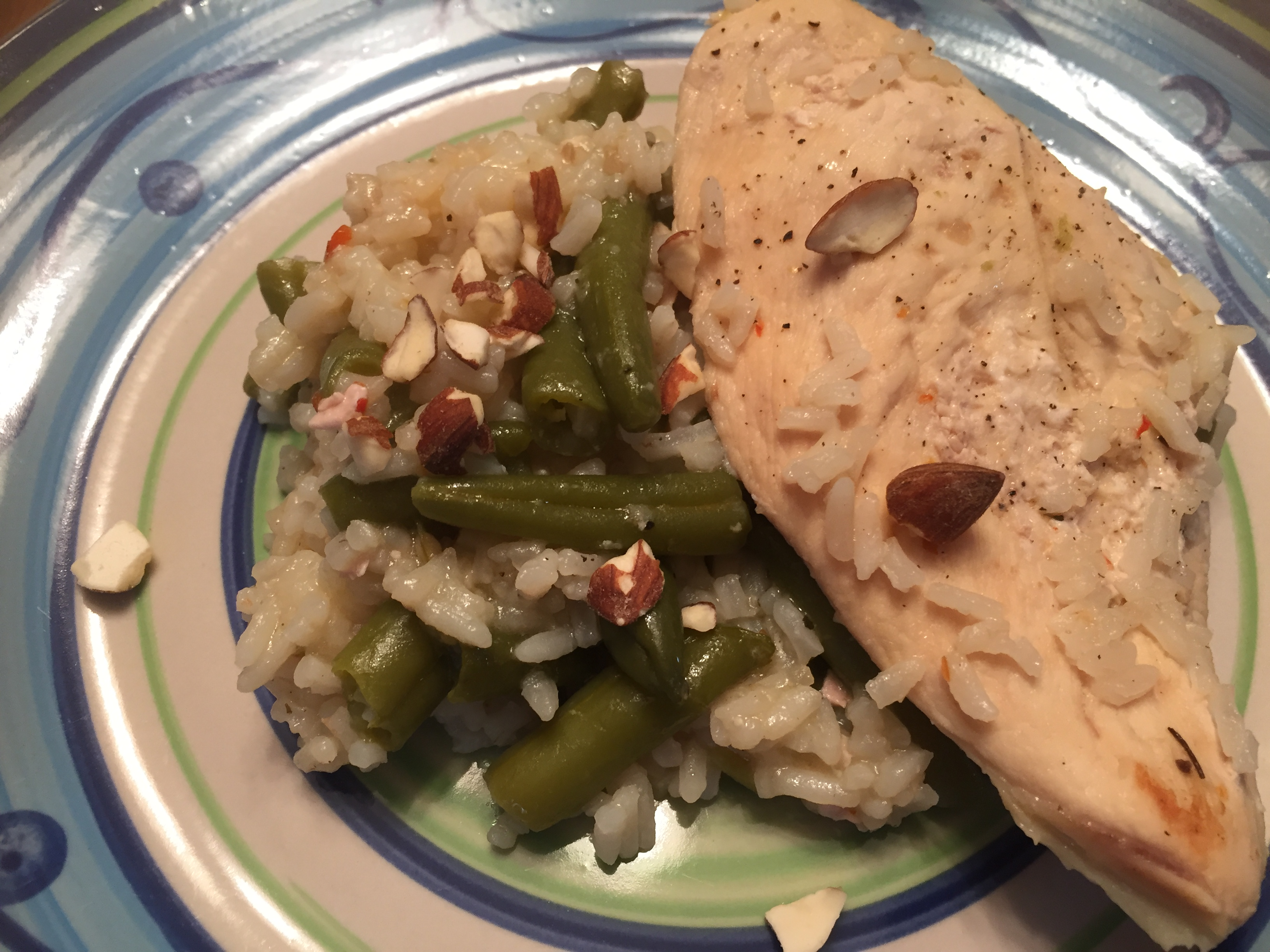 30 Minute Almond Chicken by Minute® Rice tcasa