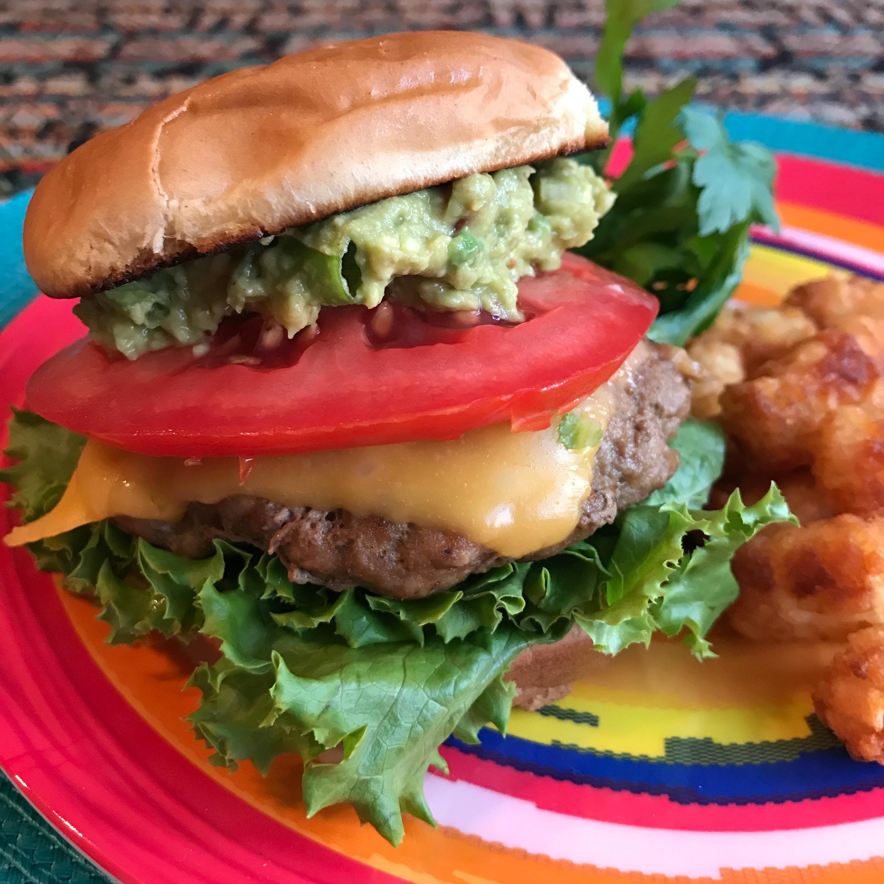 Guacamole Turkey Burger Happyschmoopies