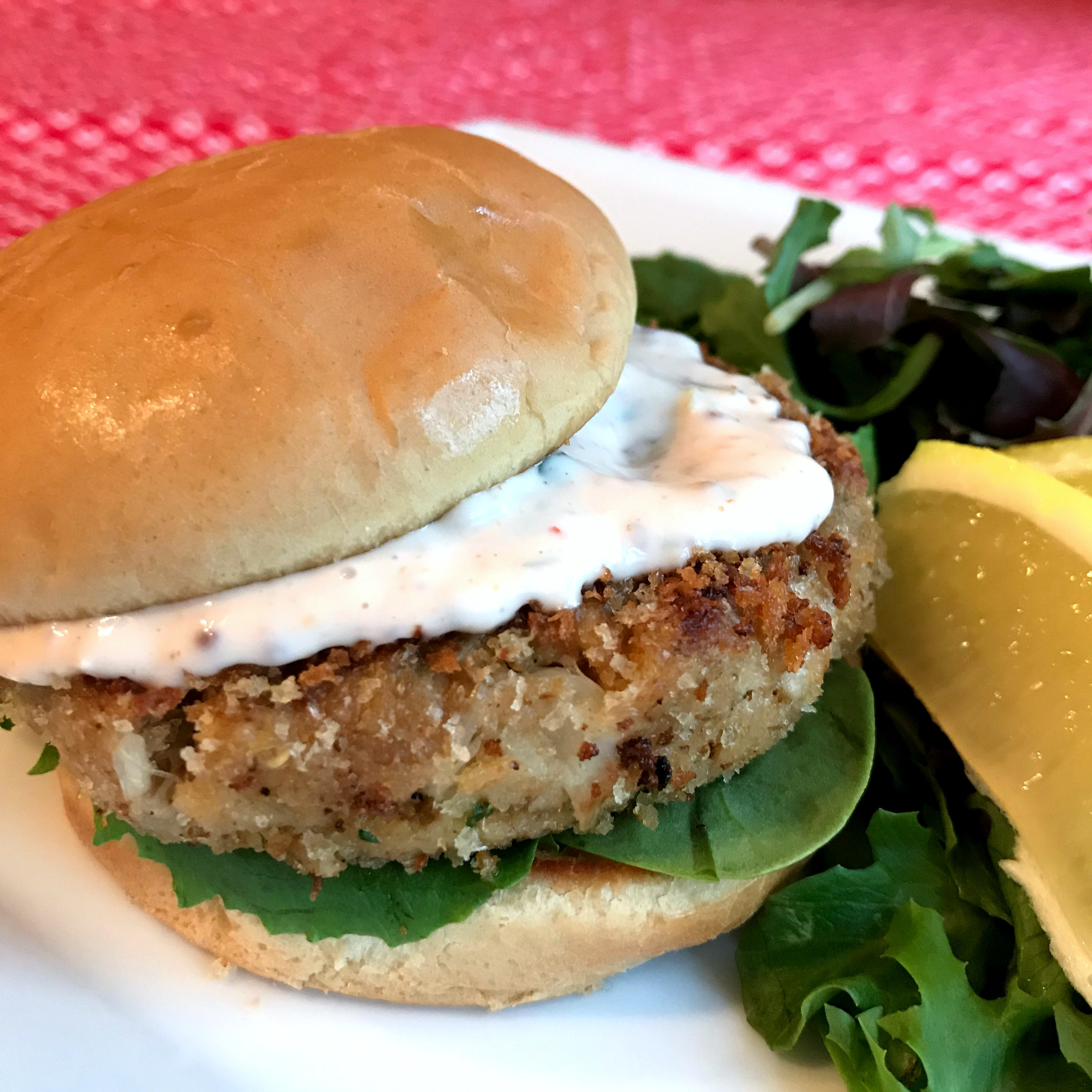 Crab Cakes with Remoulade Sauce Happyschmoopies