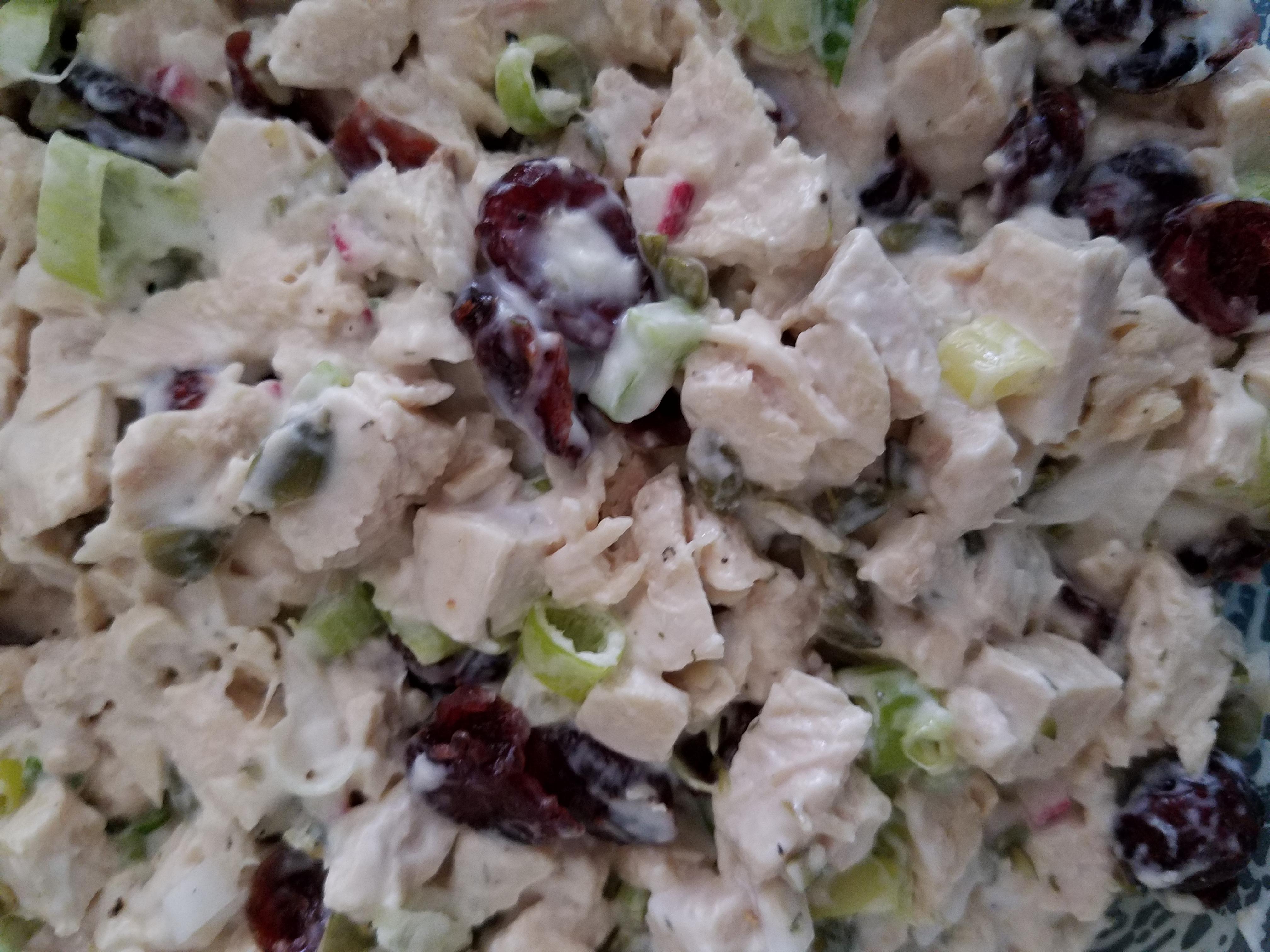 Rachel's Cranberry Chicken Salad