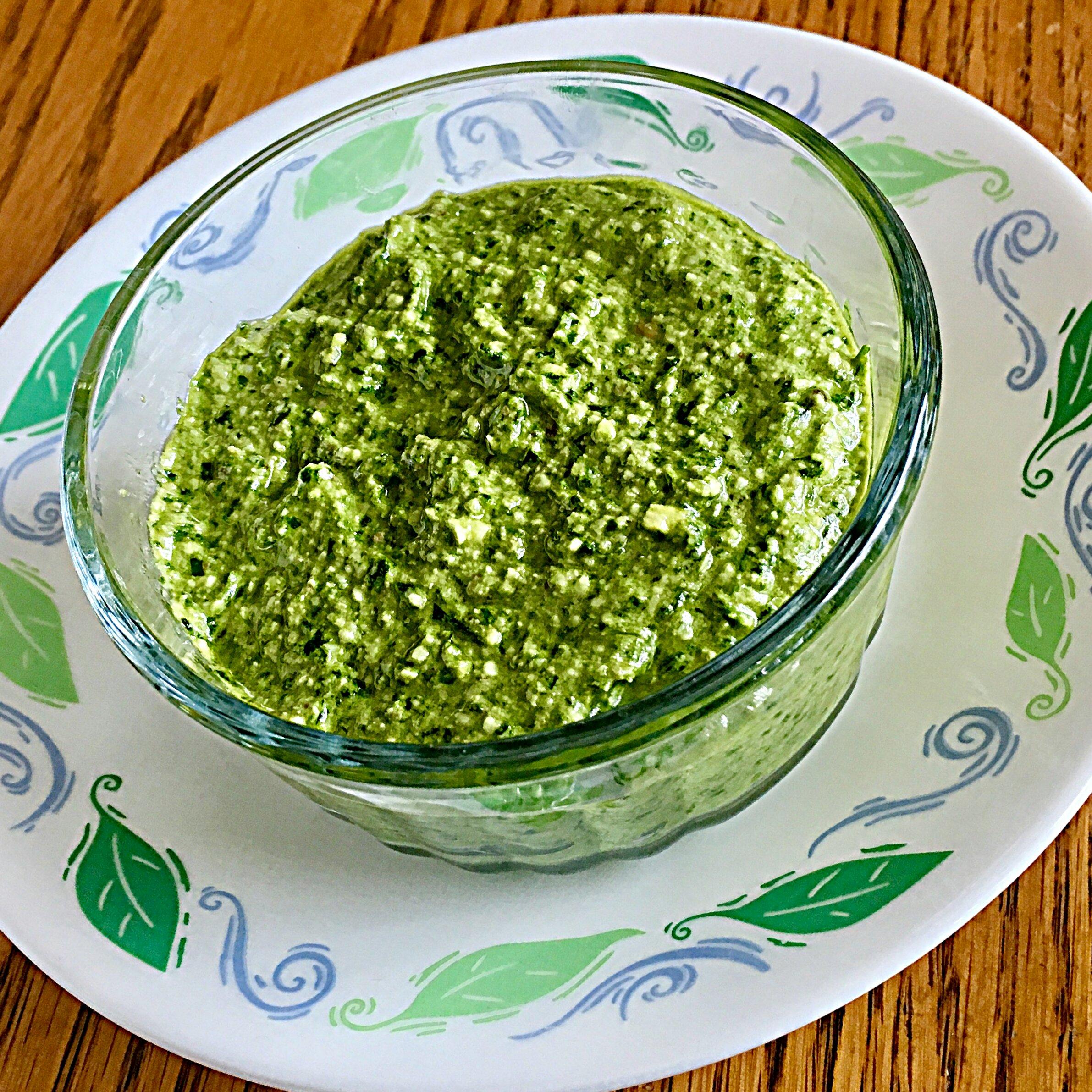 Spinach Walnut Pesto