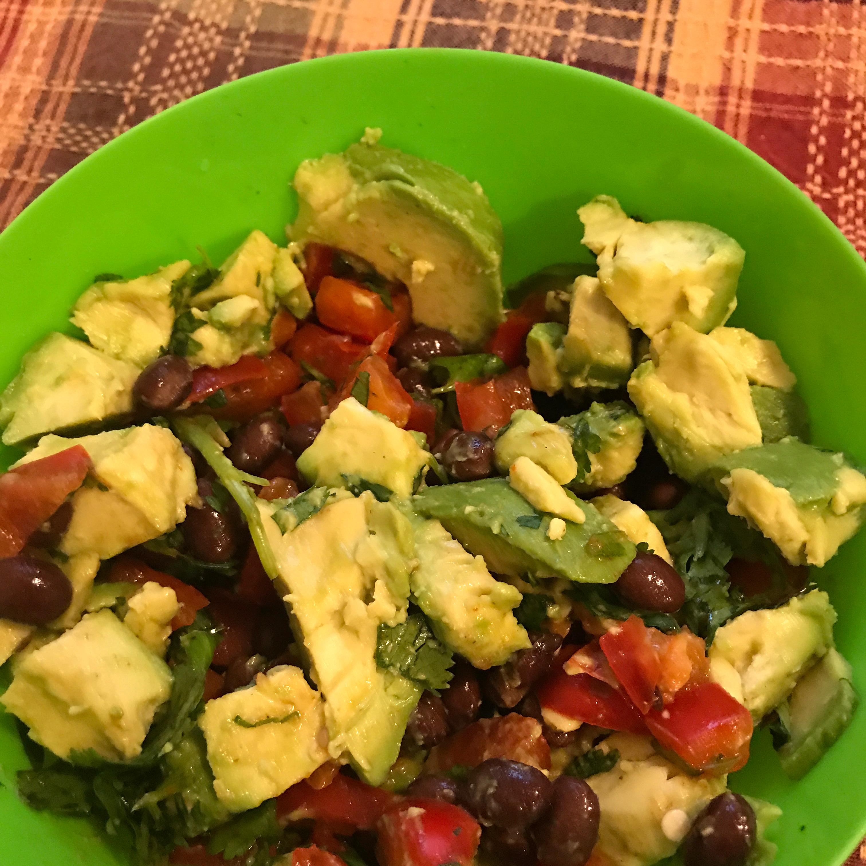 Corn and Roasted Red Pepper Salad Alec Addler