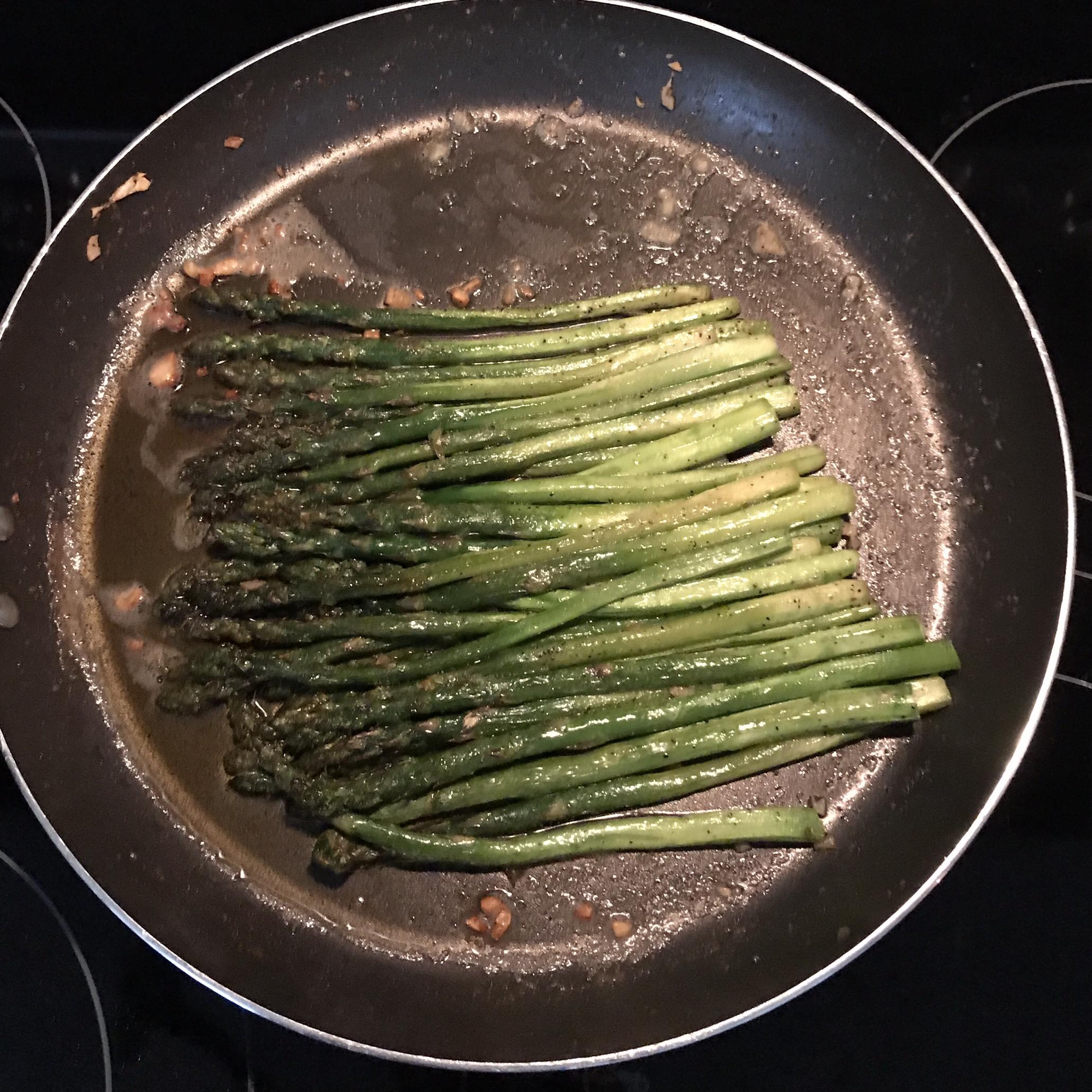 Pan-Fried Asparagus Alyson Mazza