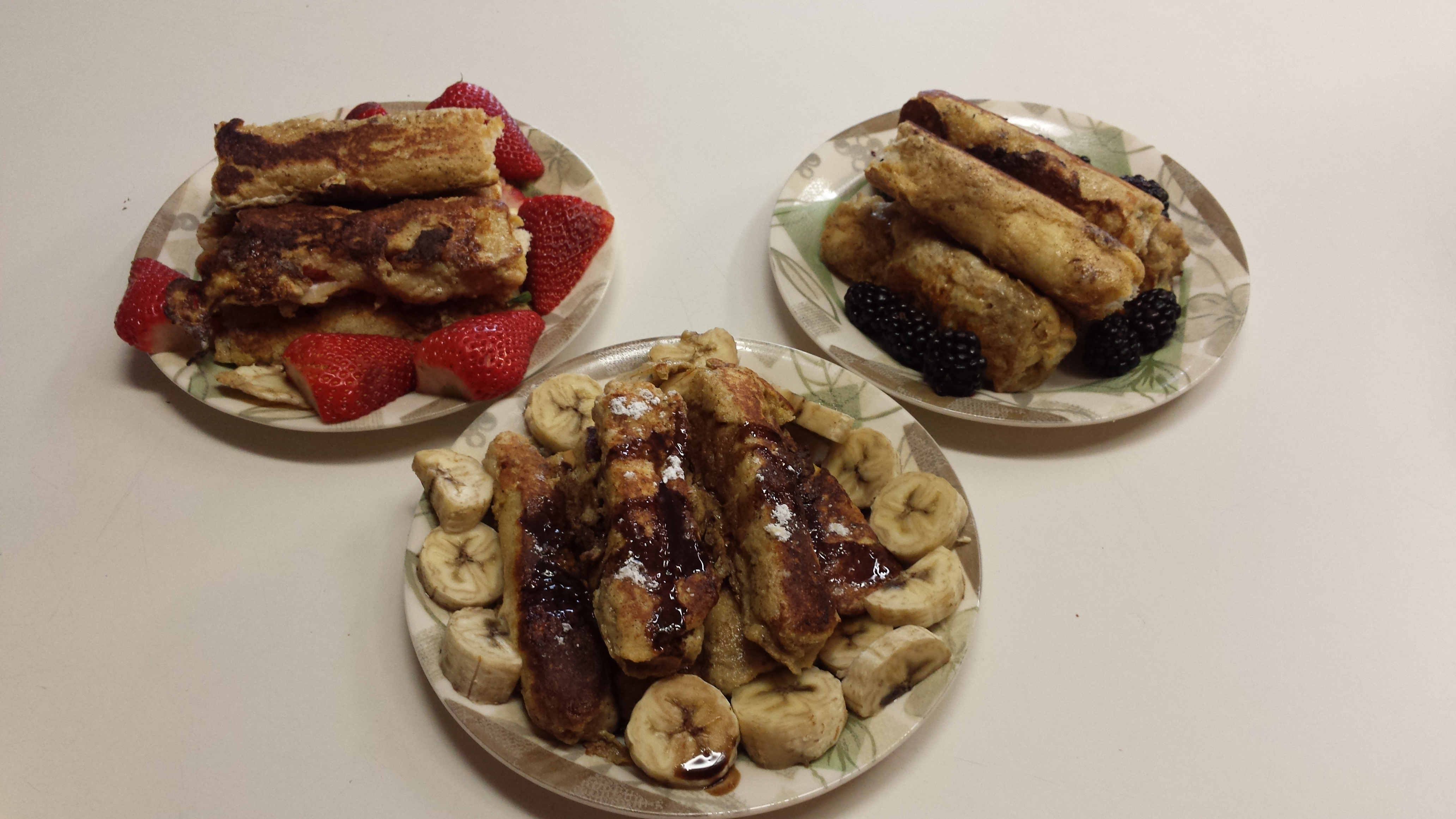 French Toast Roll-Ups James