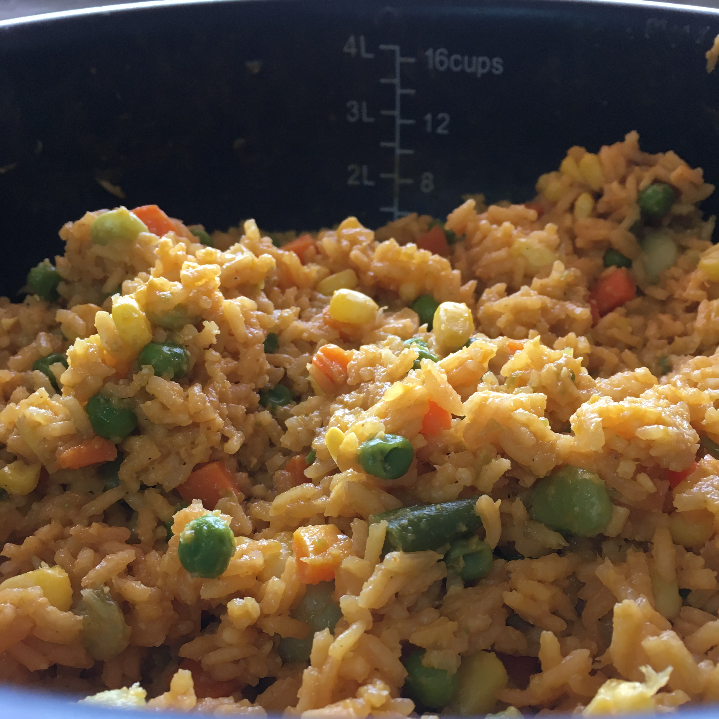 Yellow Rice with Vegetables Ginny Gonzalez