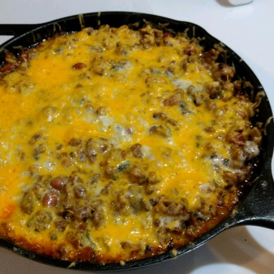 Cheesy Chilada Casserole
