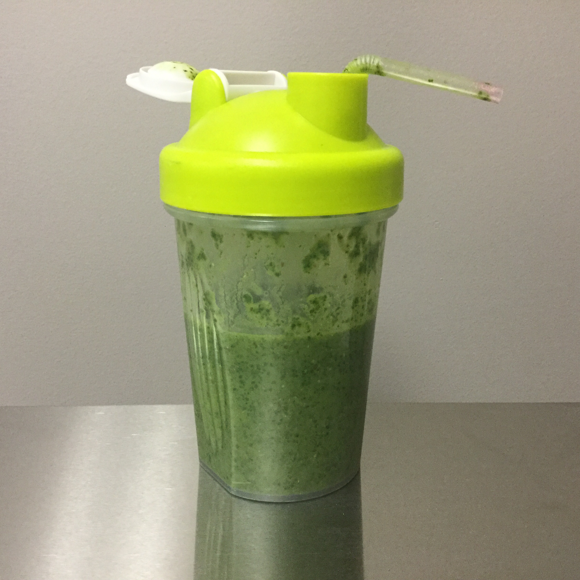 Quick Kale and Banana Smoothie Shannon Notestine