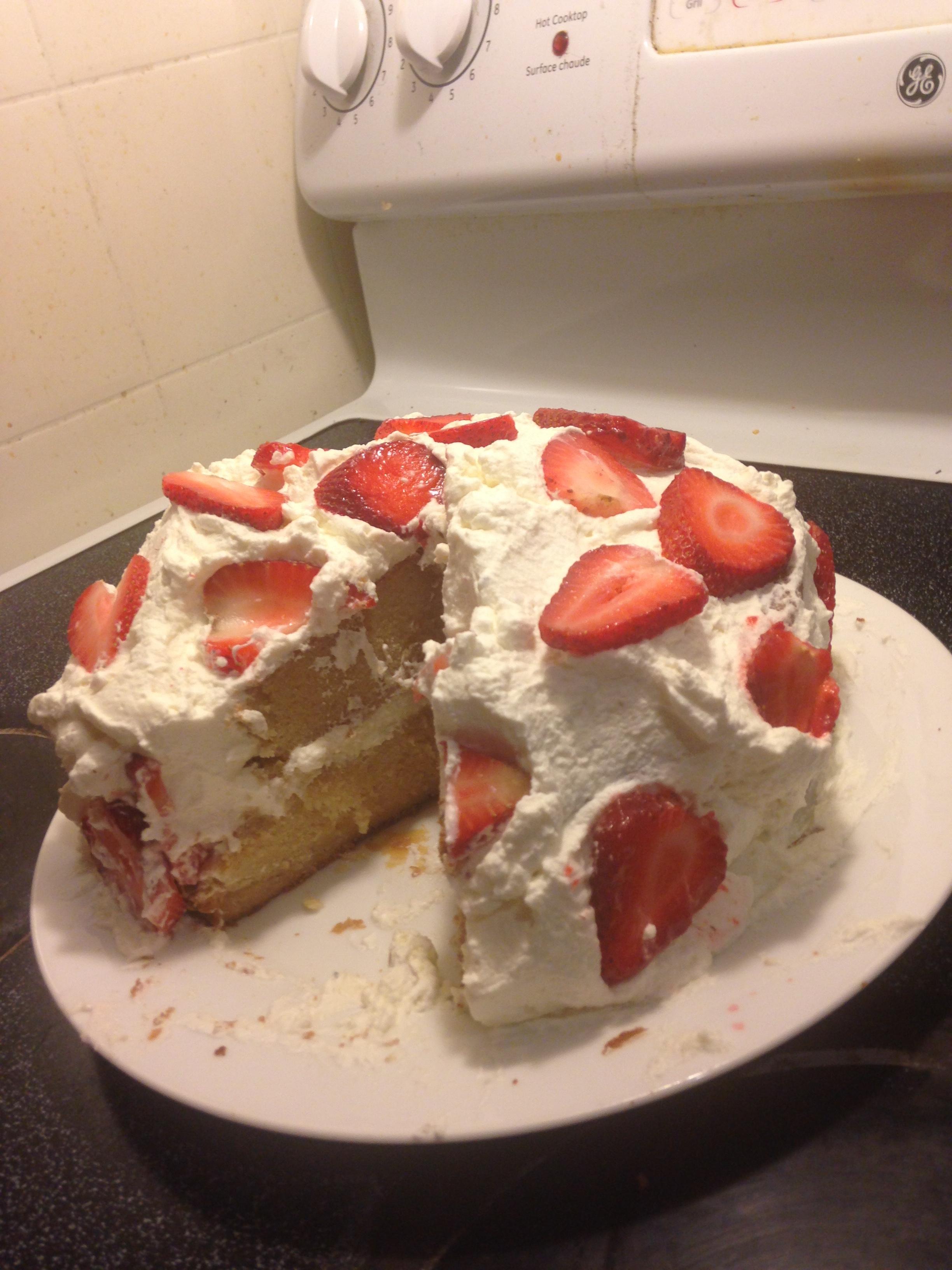 Whipped Cream Cake II BKwon