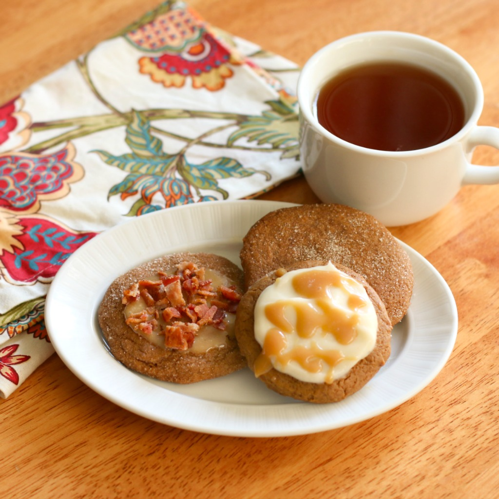 Iced Ginger Cookies