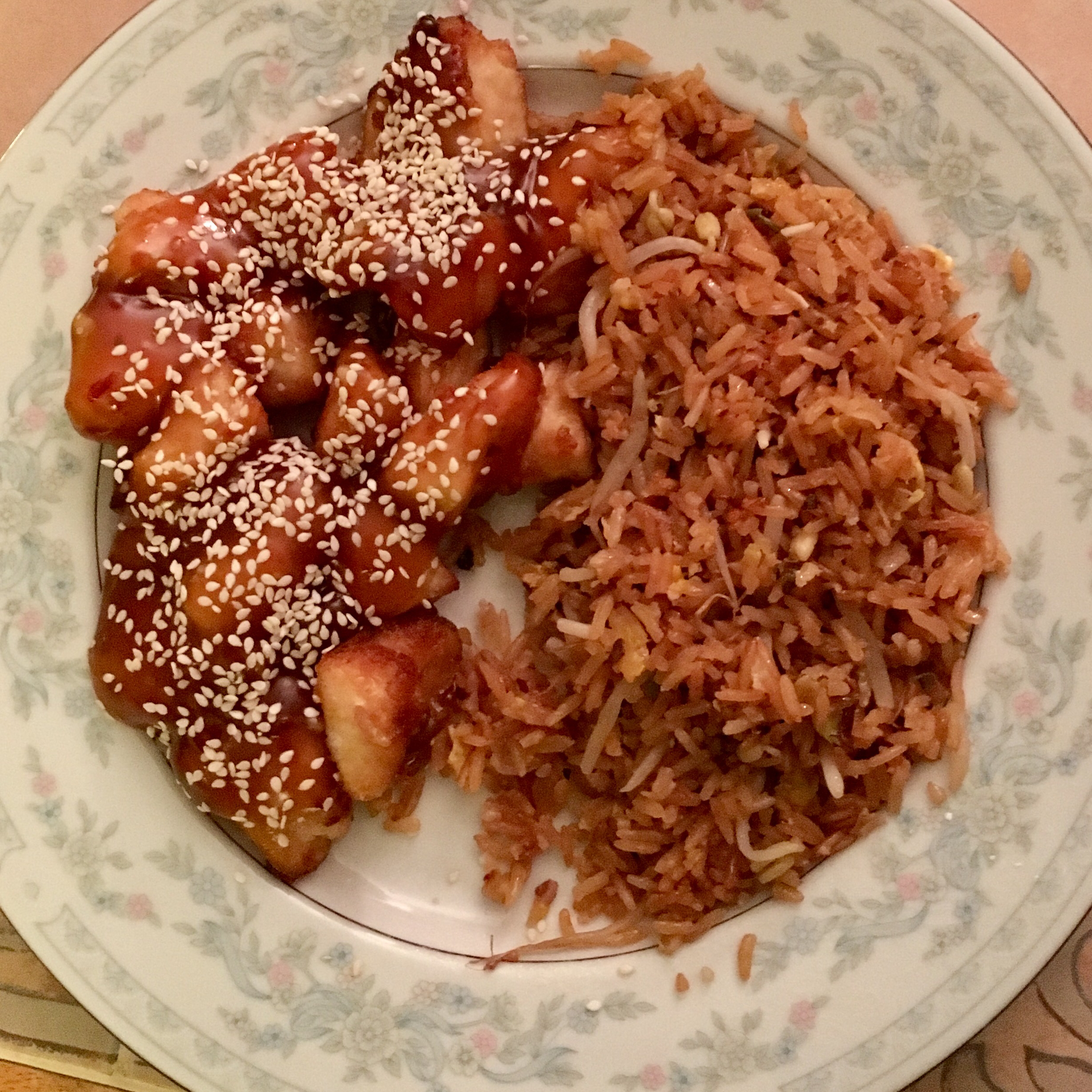 Perfect Sesame Chicken  Clay R K