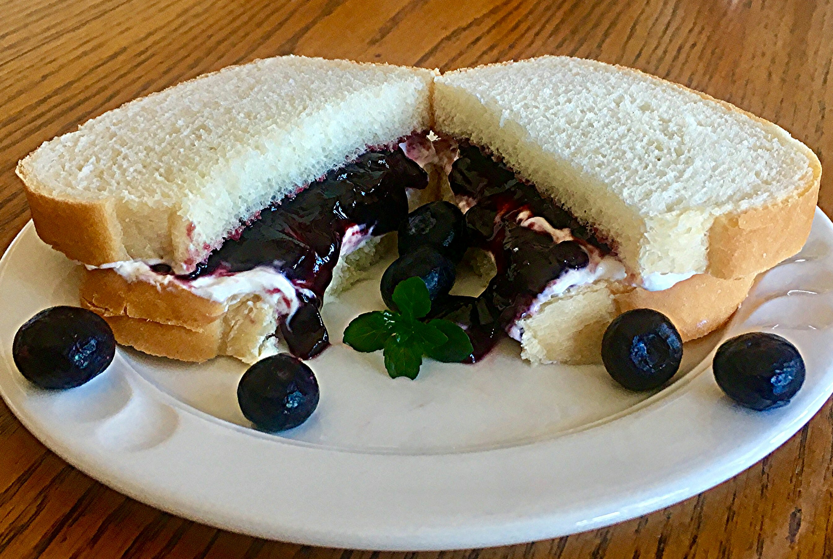 Blueberry Blintz-Wich