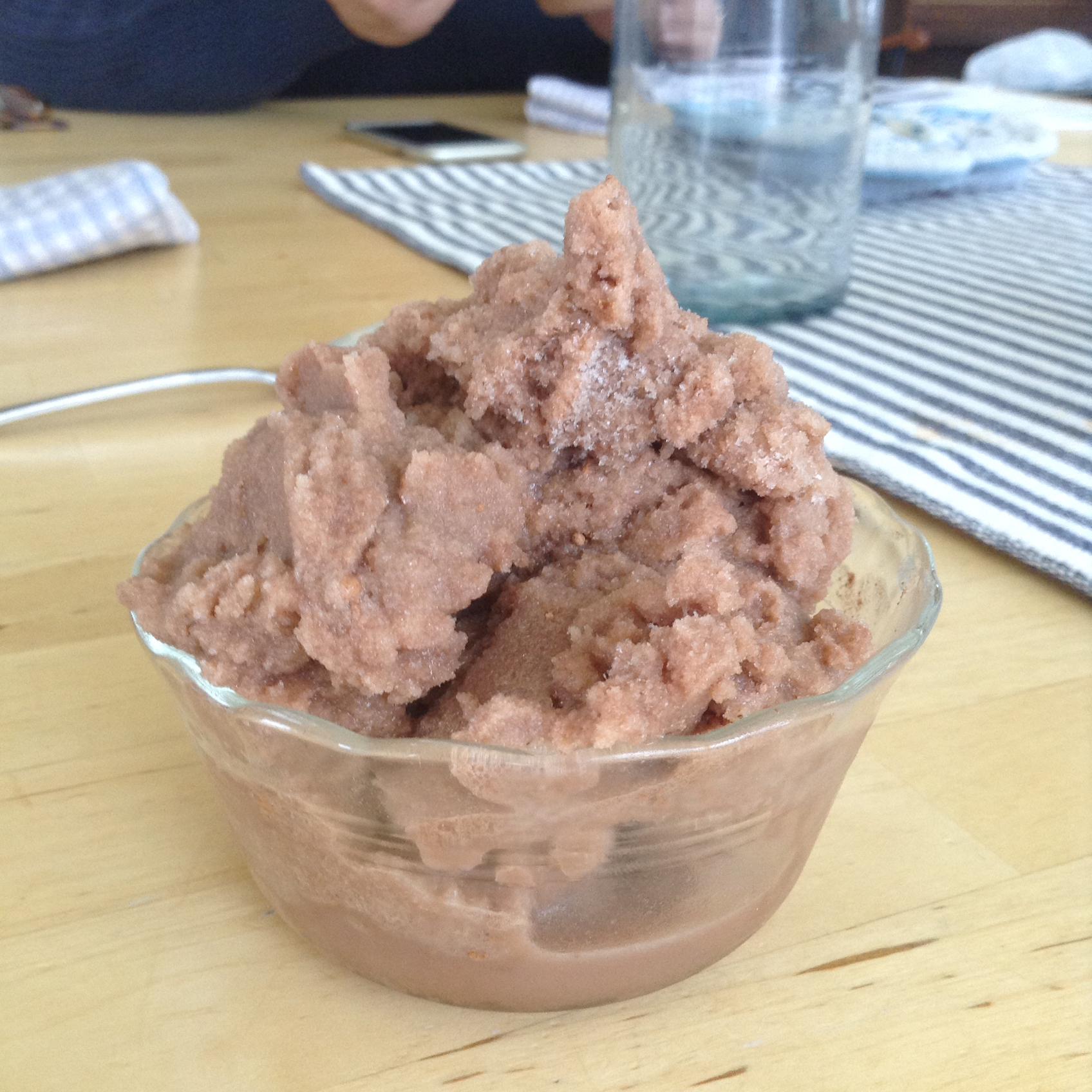 Chocolate Snow Ice Cream Kedus