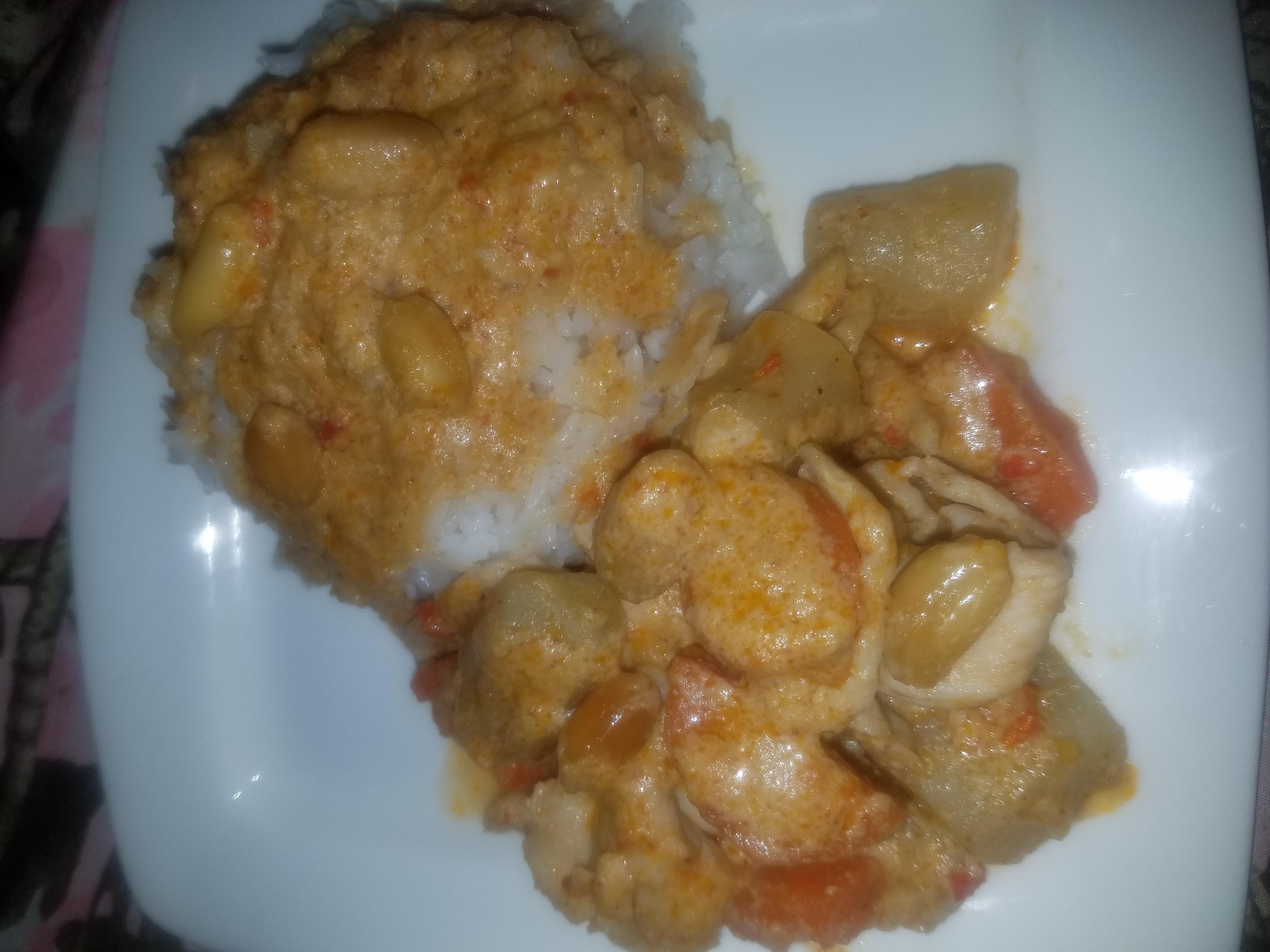 Chicken Massaman Curry Roy Albert