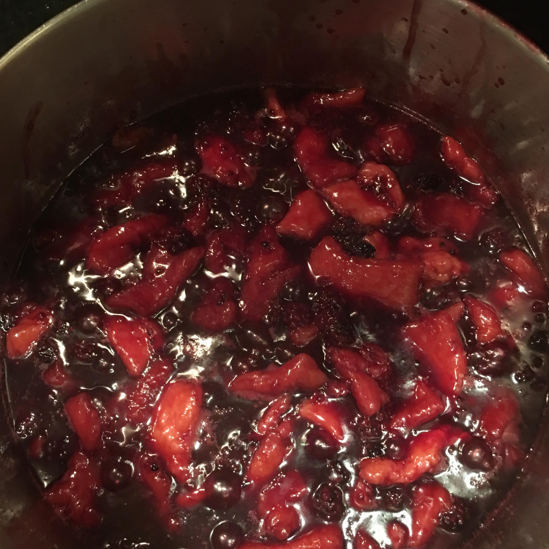 Juanita's Blackberry Dumplings
