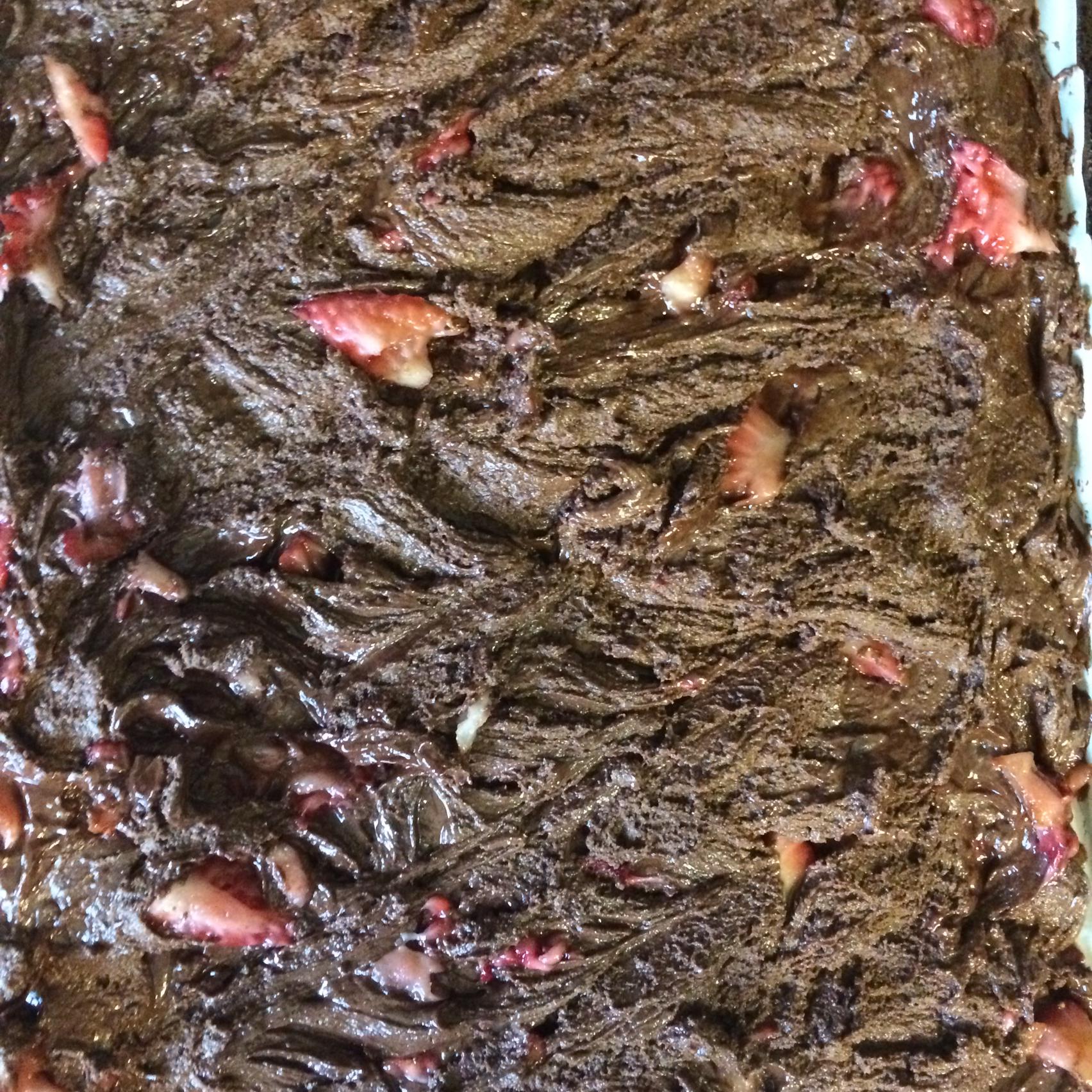 Peanut Butter, Marshmallow, Dark Chocolate, Strawberry, and Nutella® Bark